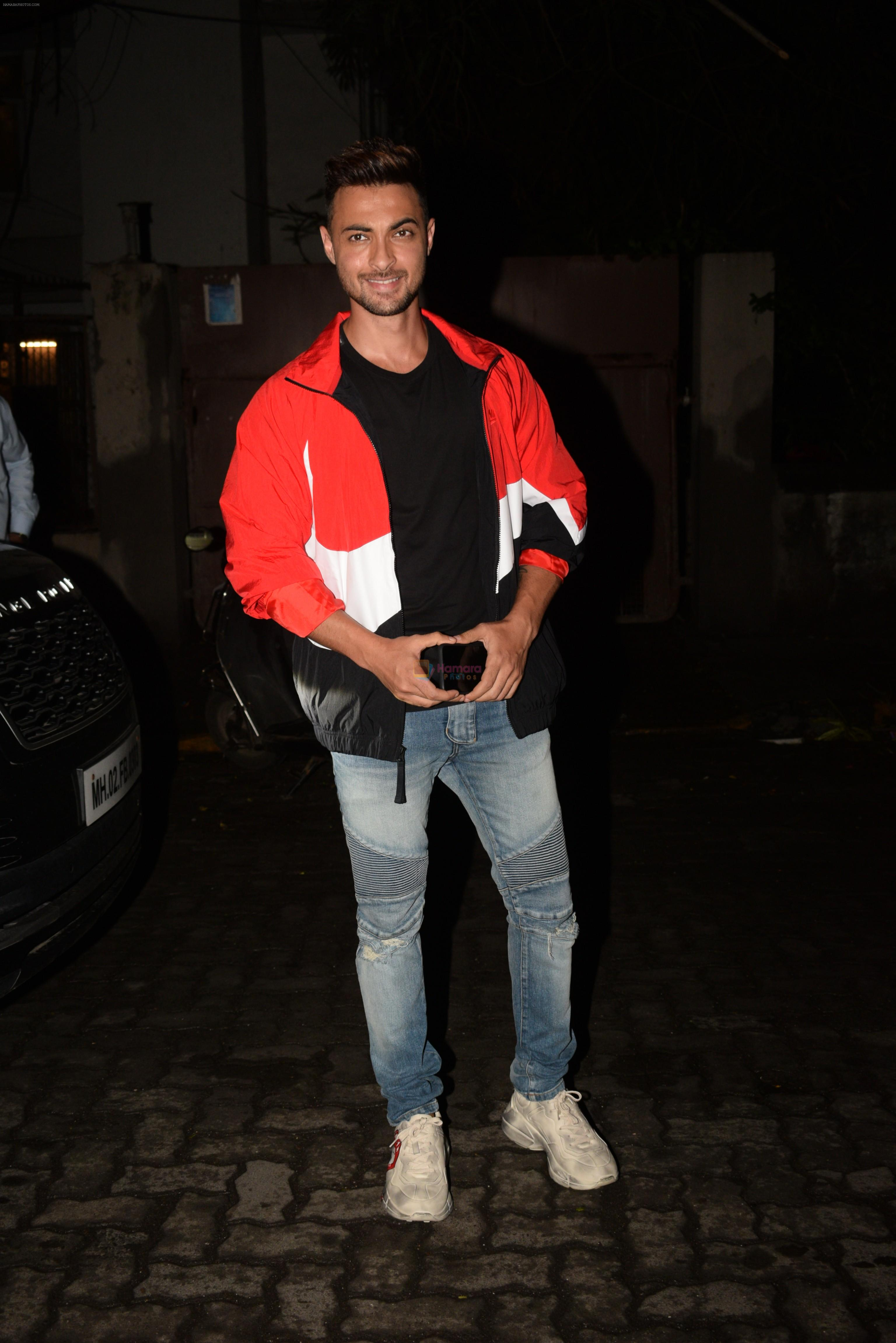 Aayush Sharma at Rohini Iyyer's party on 16th June 2019