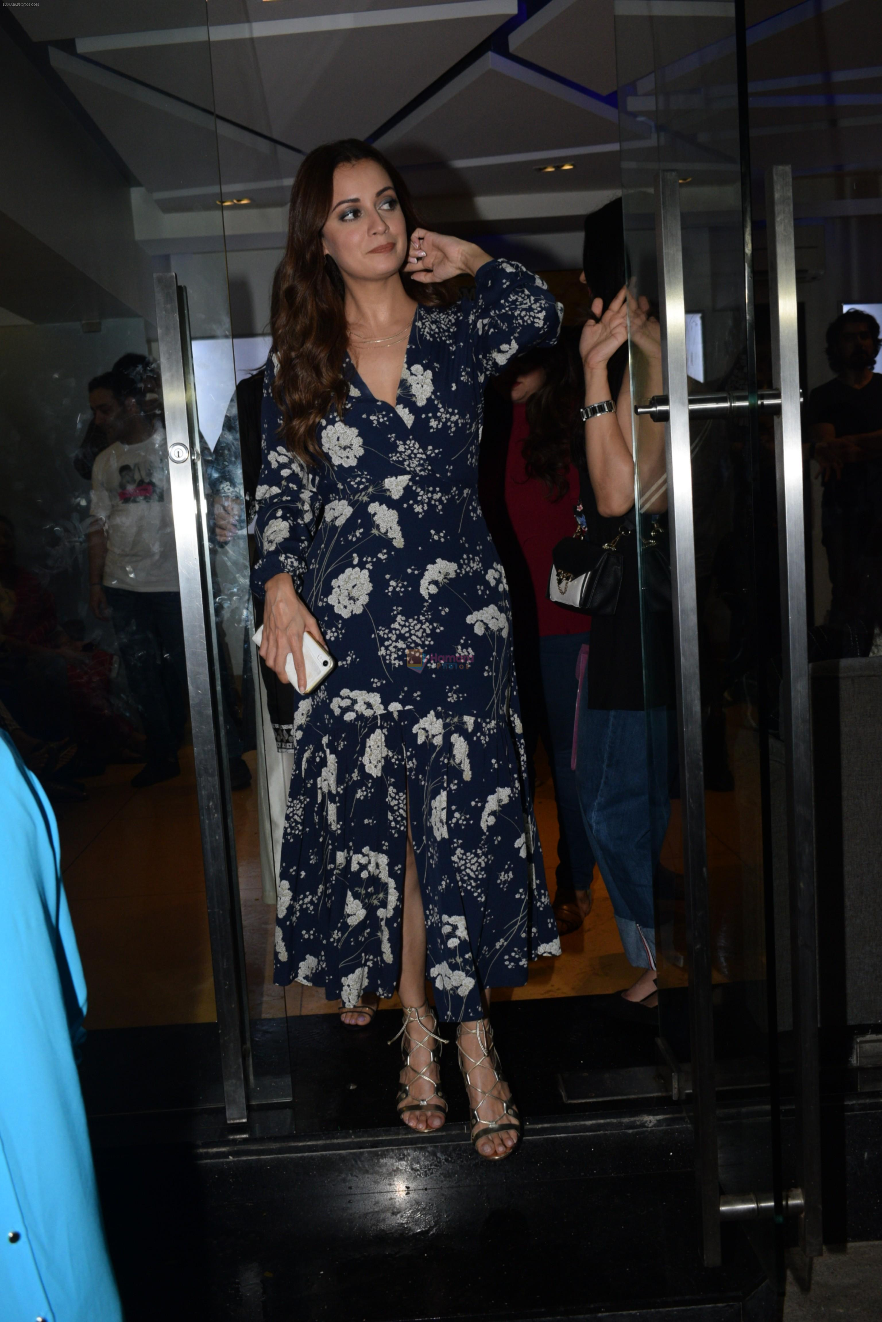 Dia Mirza at the Screening of Zee5's original Kaafir in sunny sound juhu on 15th June 2019