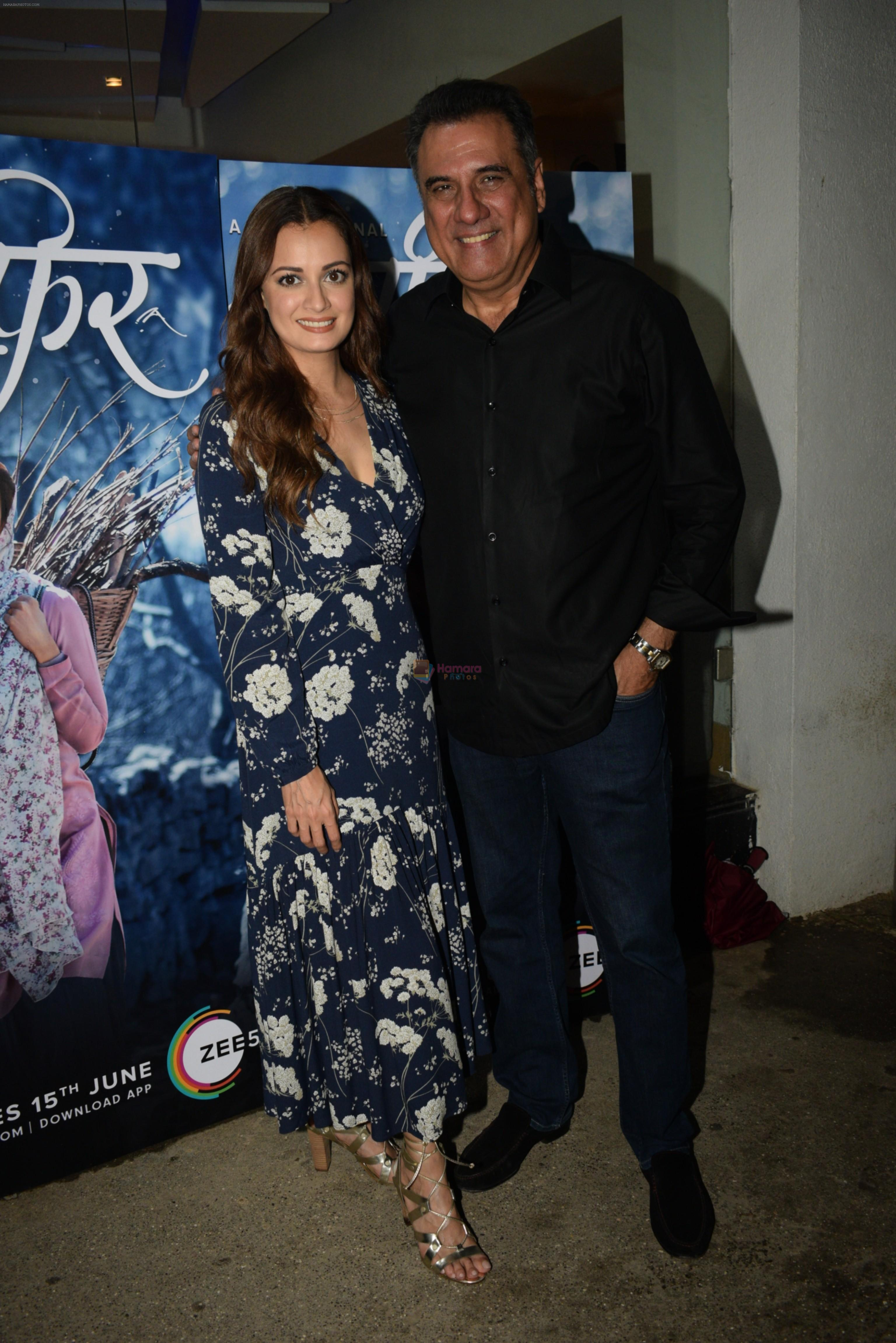 Dia Mirza, Boman Irani at the Screening of Zee5's original Kaafir in sunny sound juhu on 15th June 2019