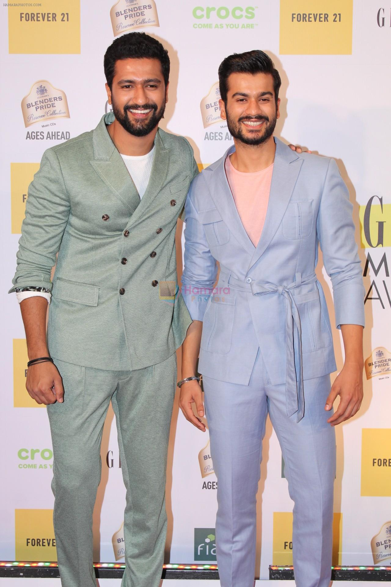 Vicky Kaushal, Sunny Kaushal at the Red Carpet of 1st Edition of Grazia Millennial Awards on 19th June 2019 on 19th June 2019