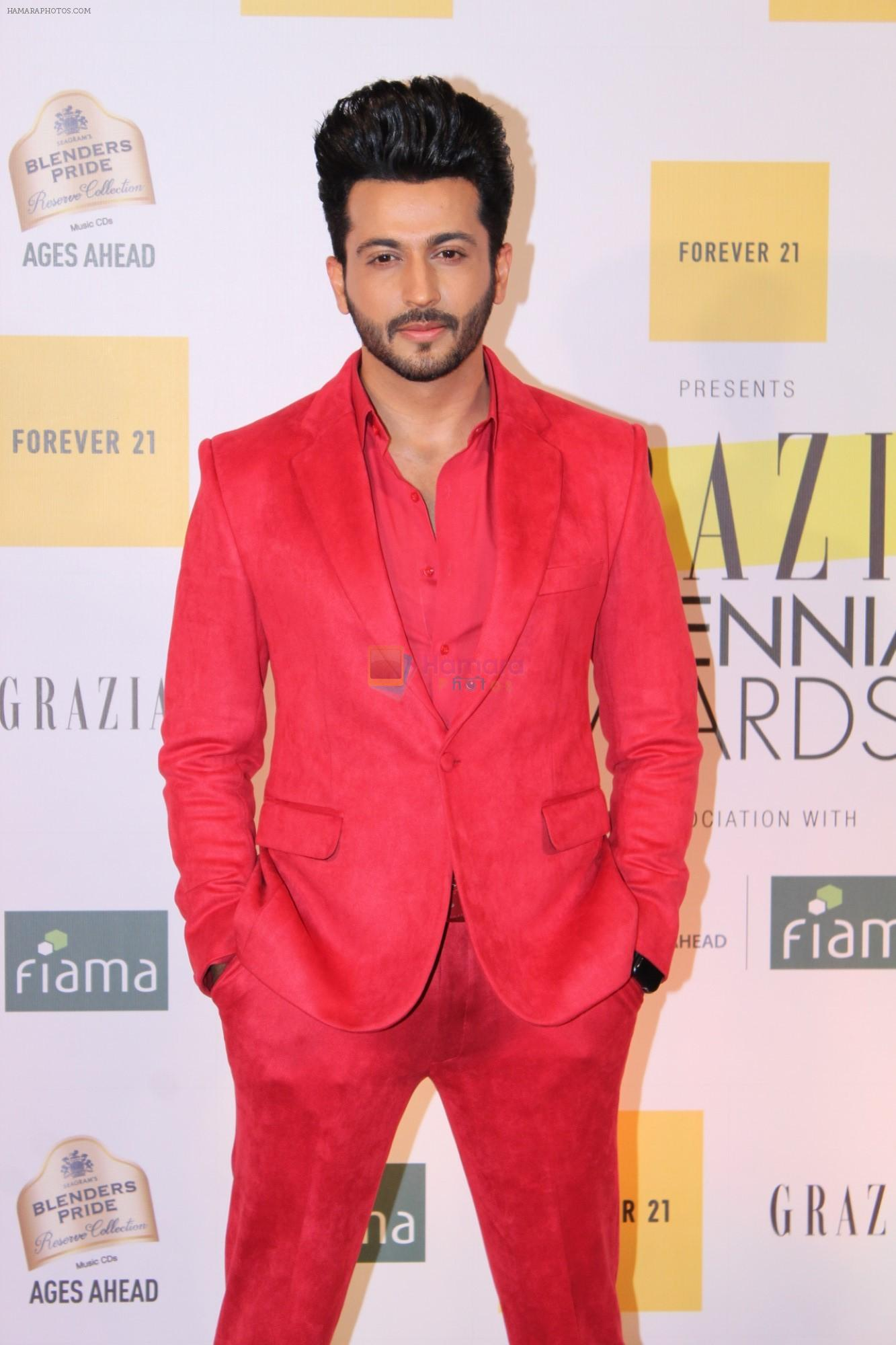Dheeraj Dhoopar at the Red Carpet of 1st Edition of Grazia Millennial Awards on 19th June 2019