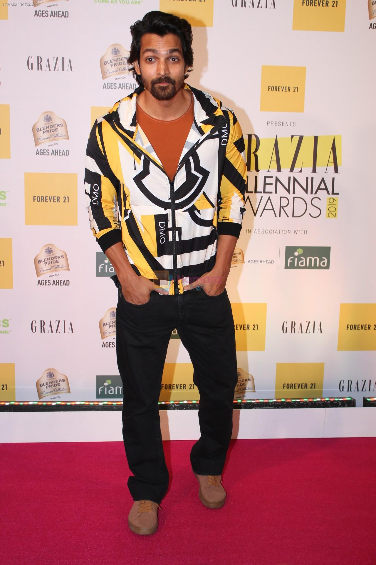 Harshvardhan Rane at the Red Carpet of 1st Edition of Grazia Millennial Awards on 19th June 2019 on 19th June 2019