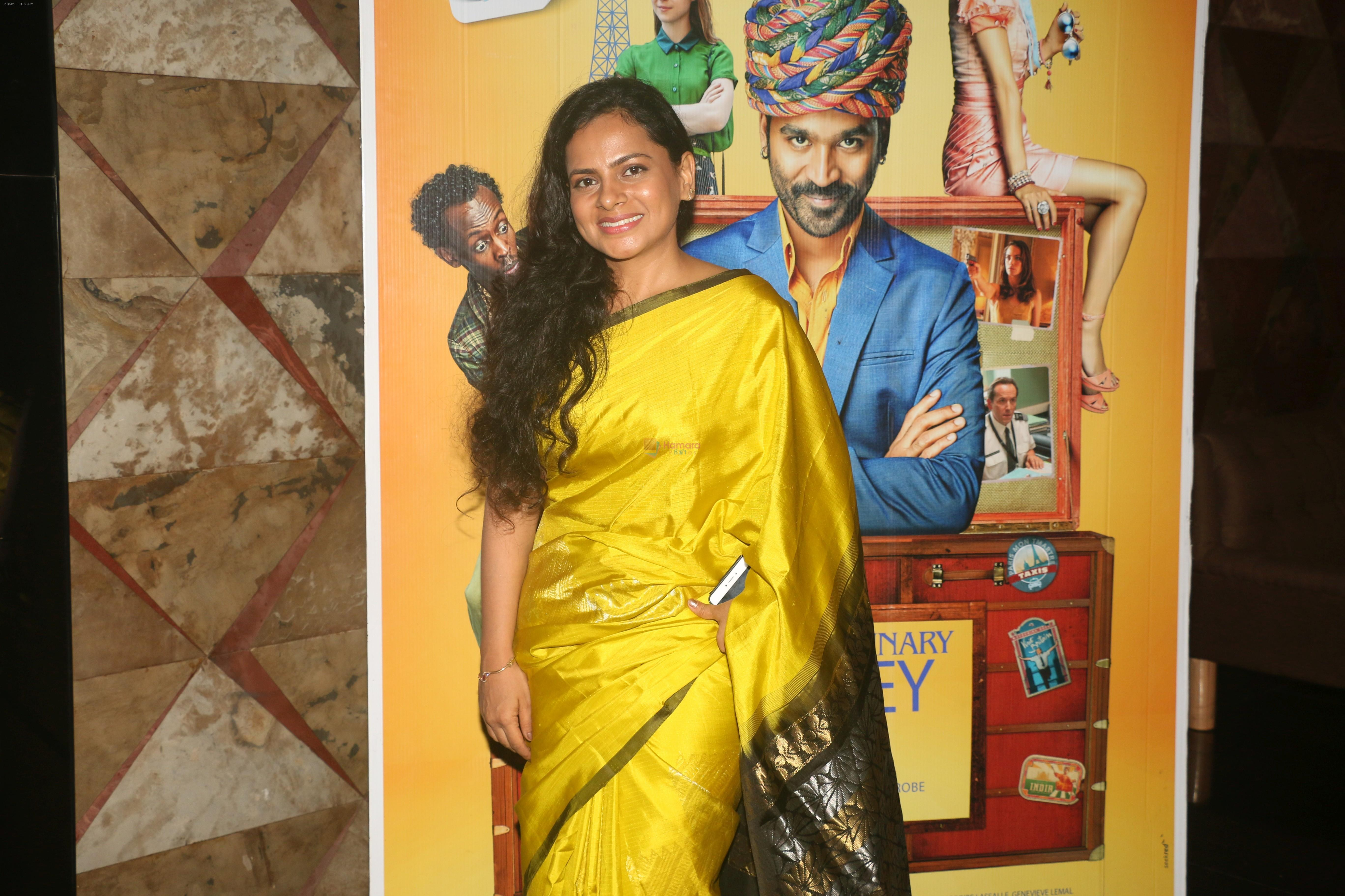 Amruta Sant at the  Screening of the film The Extraordinary Journey of the fakir on 21st June 2019