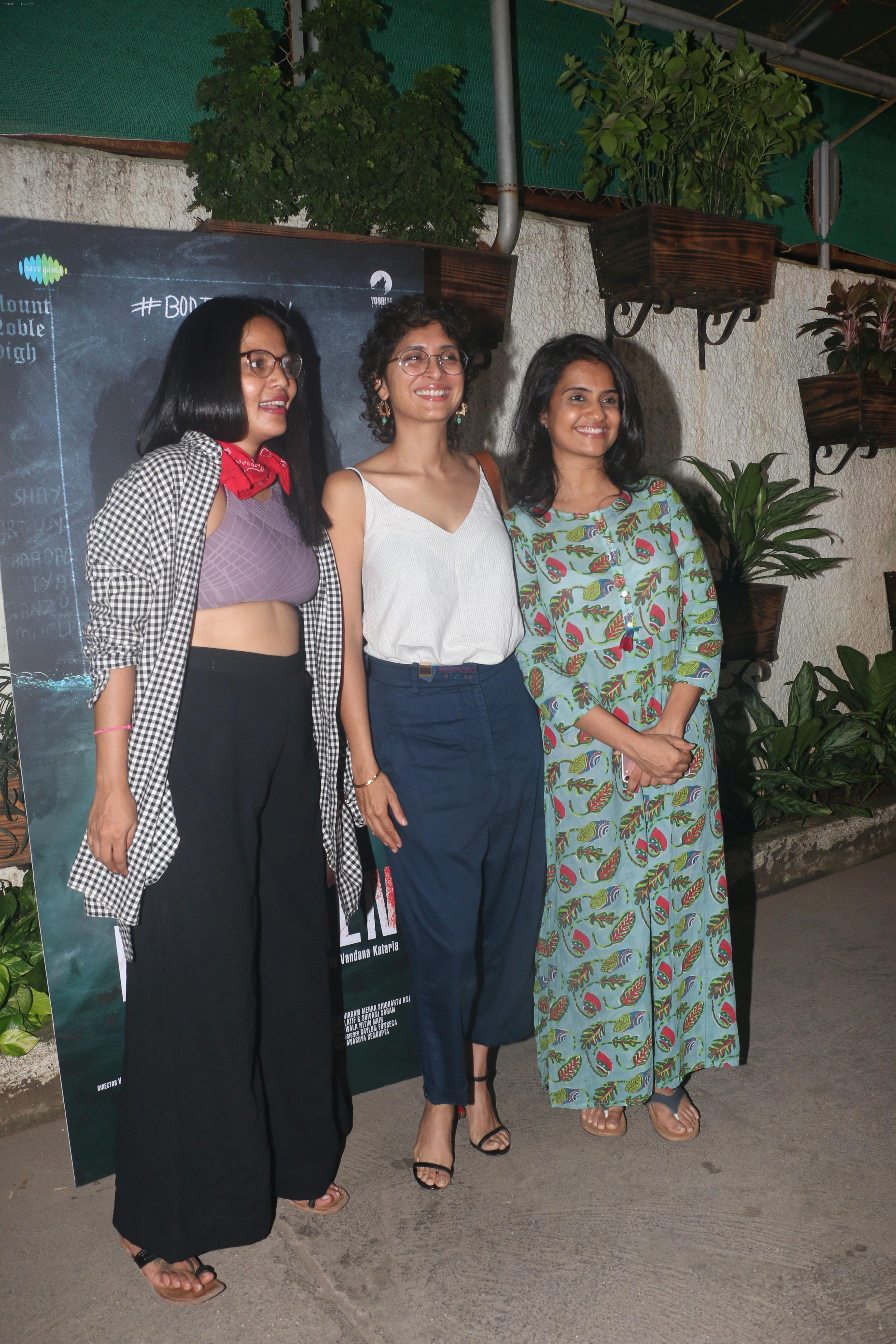 at the Screening of film Noblemen at sunny sound juhu on 22nd June 2019