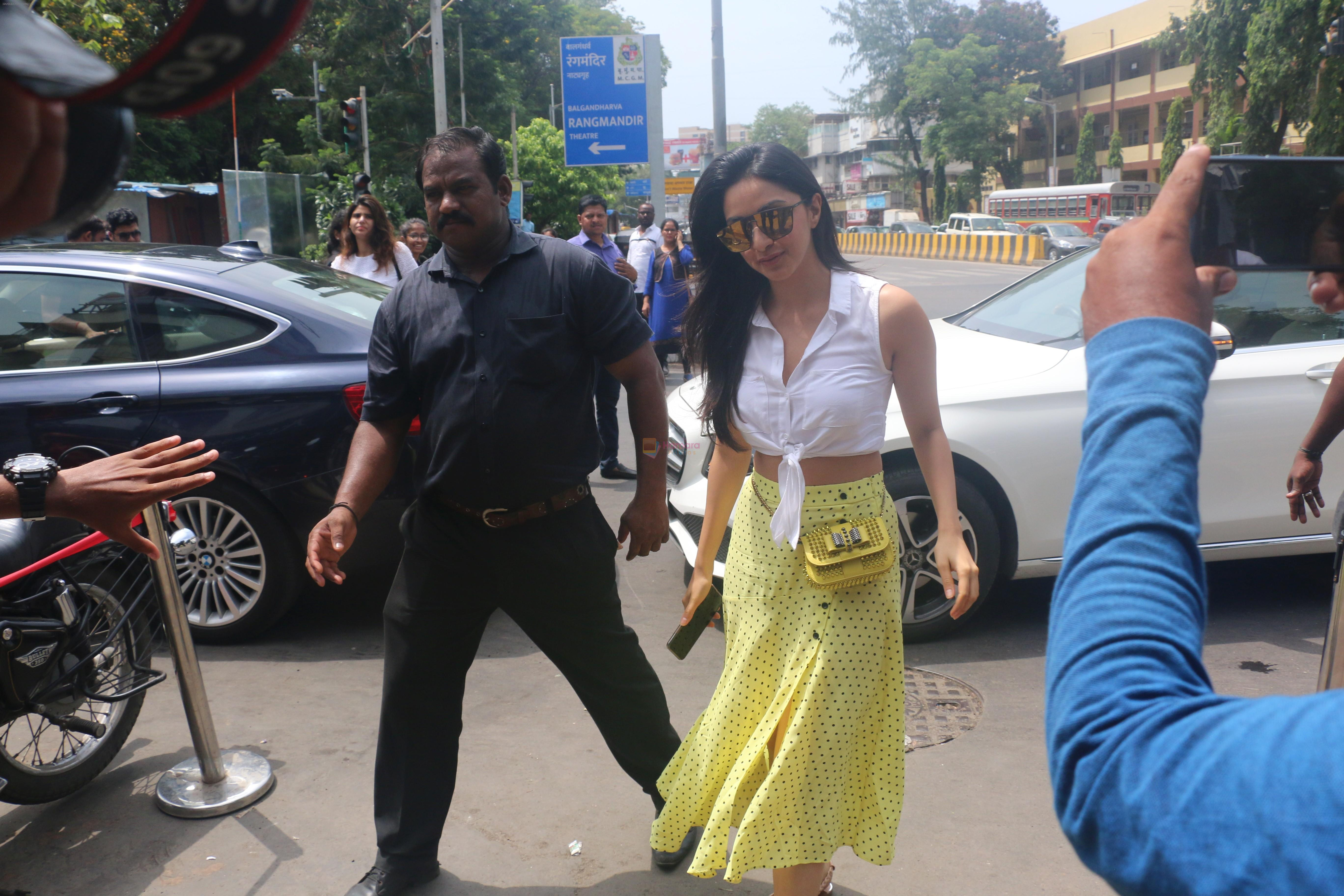 Kiara Advani spotted at Bastian in bandra on 23rd June 2019