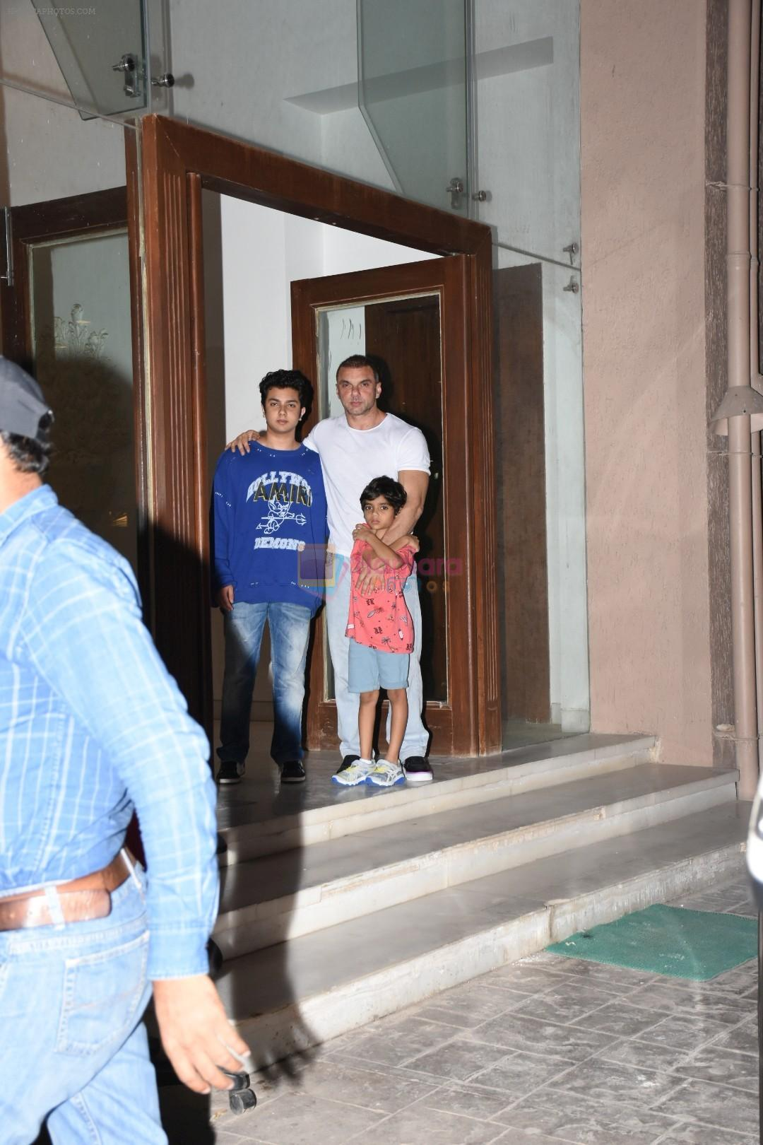 Sohail Khan at Arbaaz Khan's party for the new house at bandra on 23rd June 2019