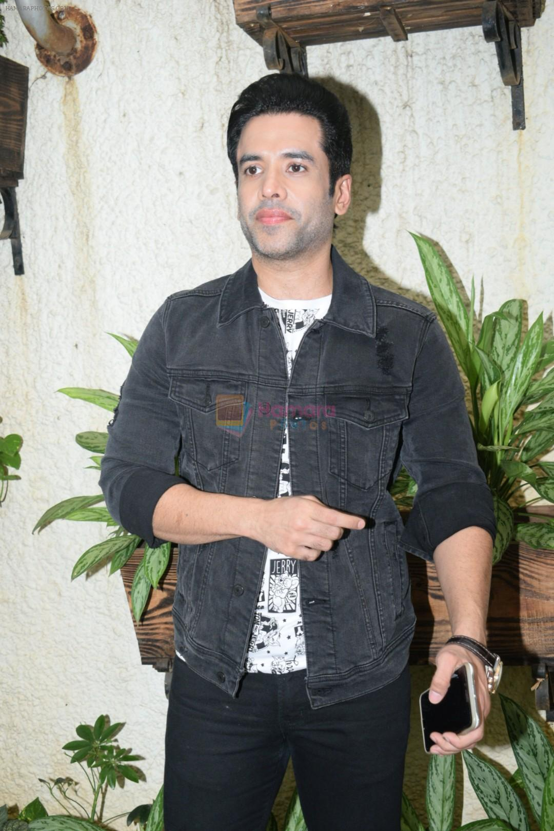 Tusshar Kapoor at the Screening of Alt Balaji's new web series Boo Sabki Phategi in sunny sound juhu on 25th June 2019