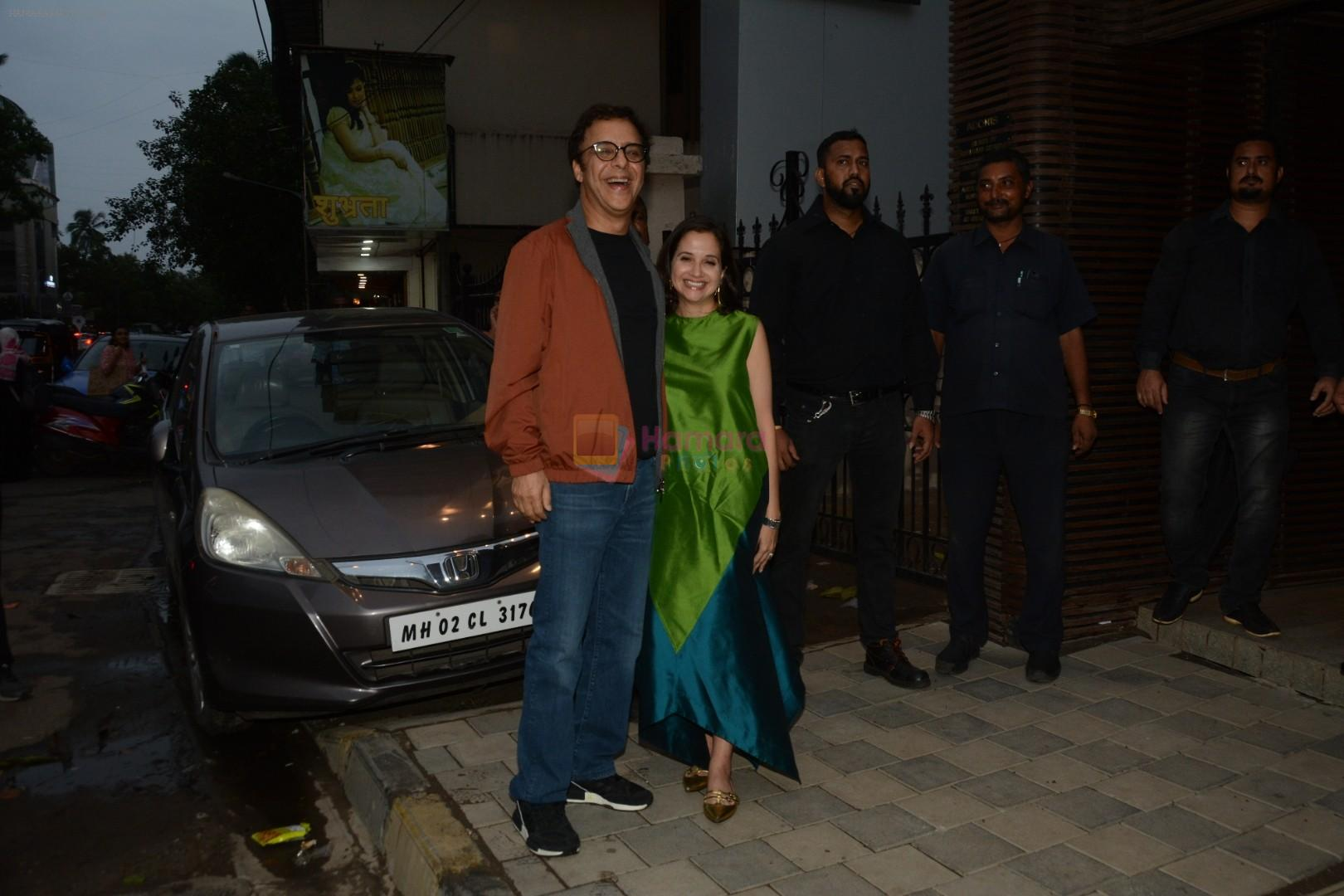 Vidhu Vinod Chopra, Anupama Chopra at Yuvraj Singh's retirement party in Estella juhu on 30th June 2019