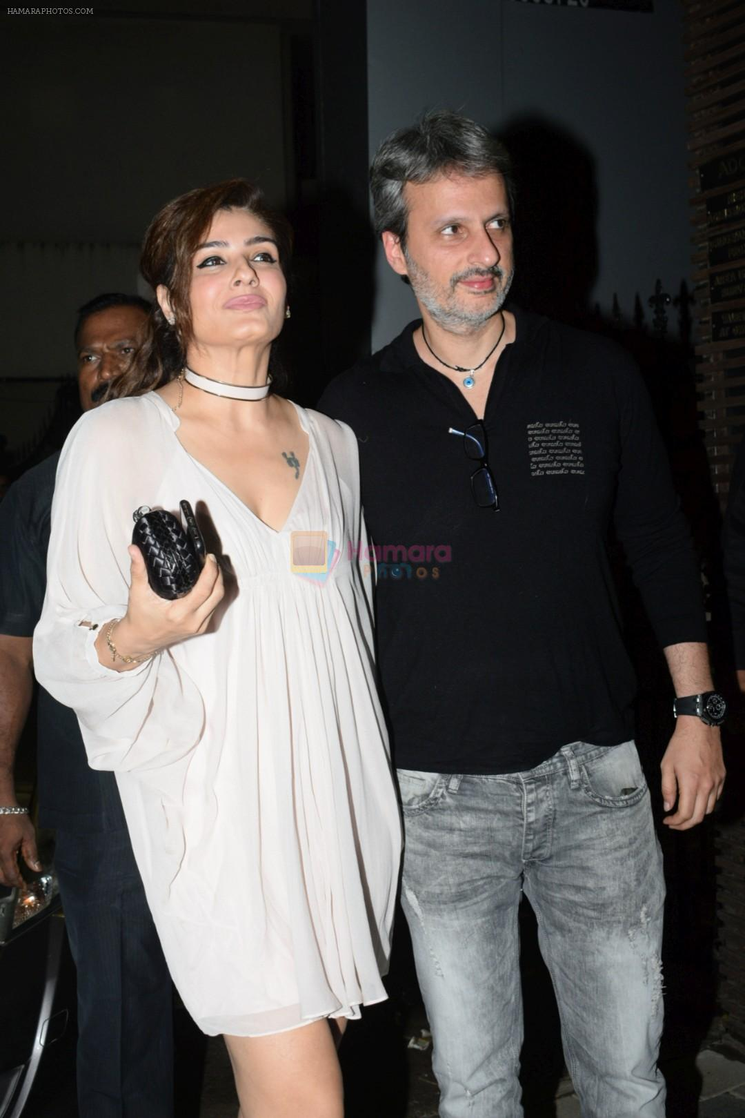 Raveena Tandon at Yuvraj Singh's retirement party in Estella juhu on 30th June 2019