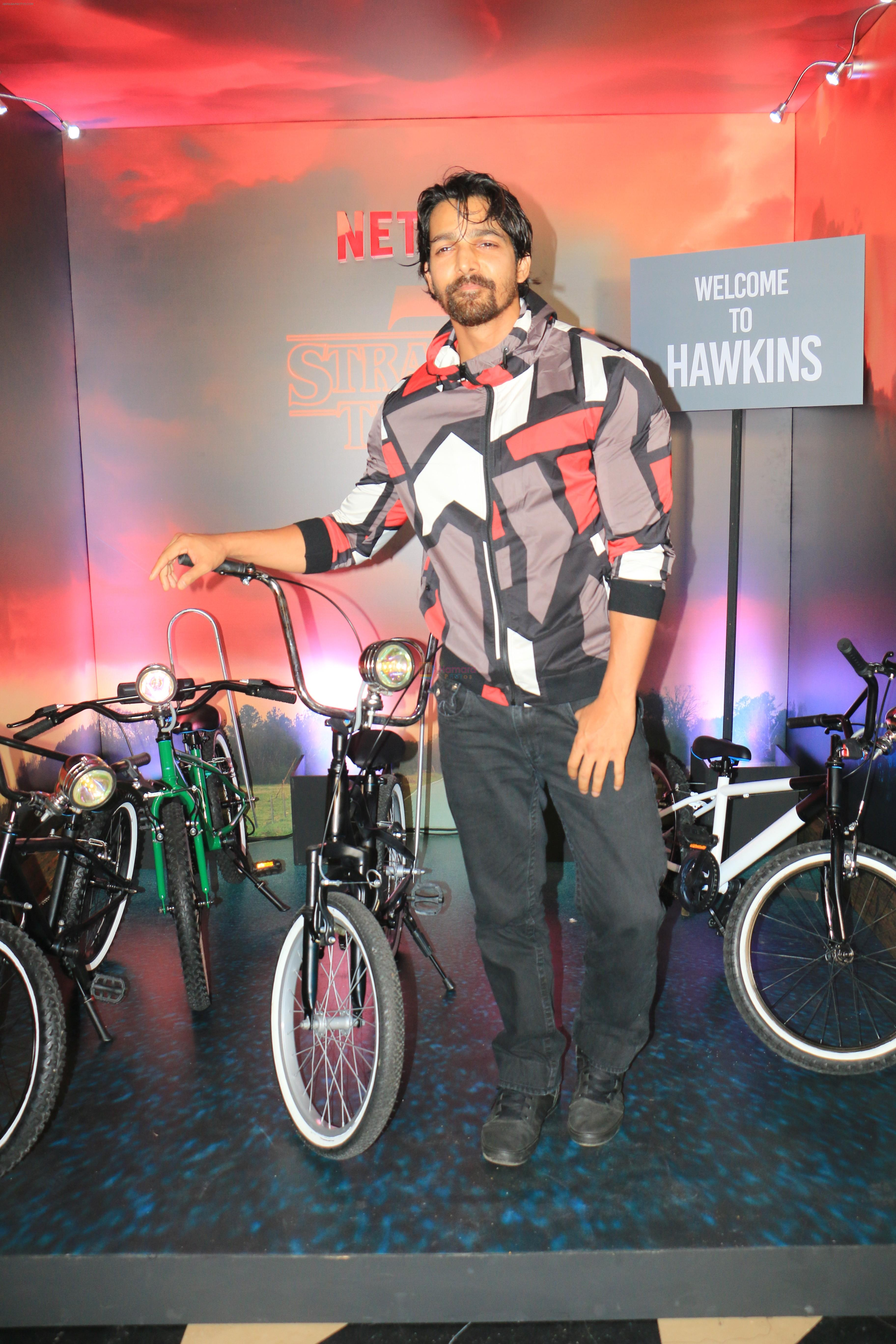 Harshavardhan Rane at the Screening of Netflix Stranger Things 3 at pvr juhu on 30th June 2019