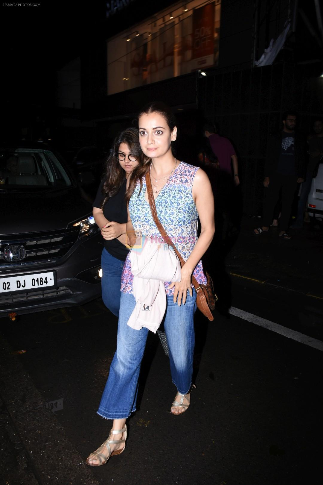 Dia Mirza spotted at Bandra on 1st July 2019