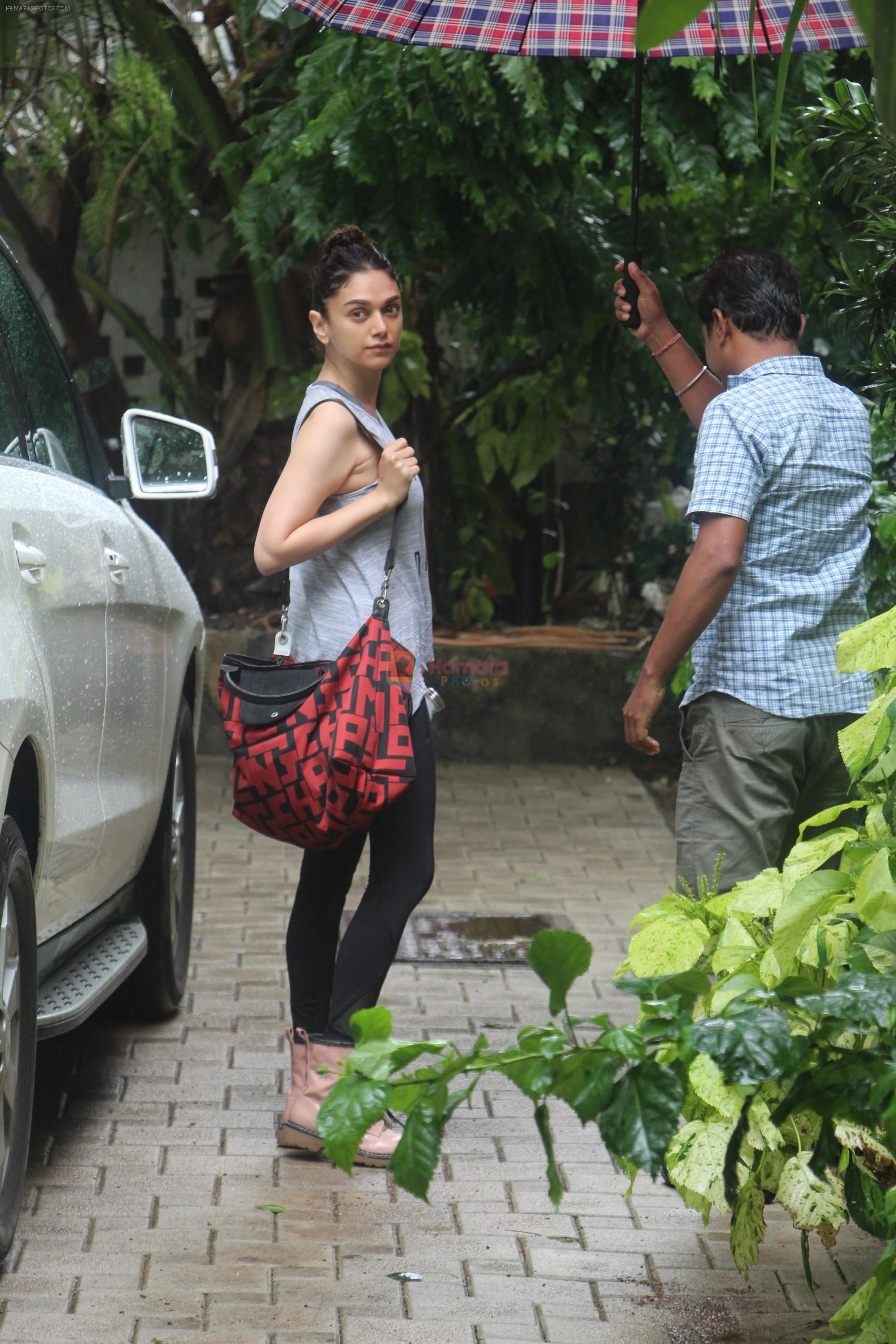 Aditi Rao Hydari spotted at bandra on 2nd July 2019