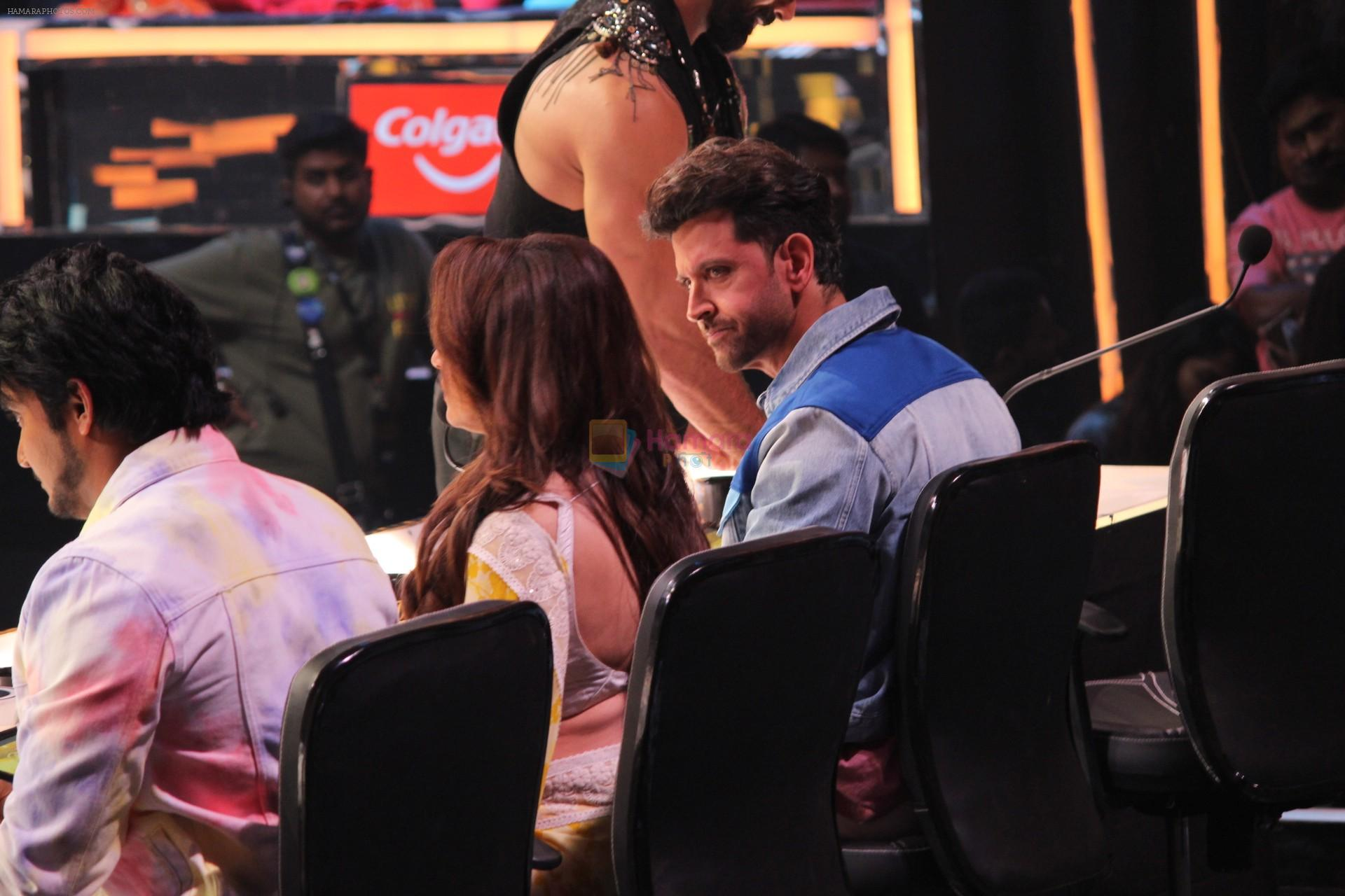 Hrithik Roshan on the sets of colors Dance Deewane in filmcity on 2nd July 2019