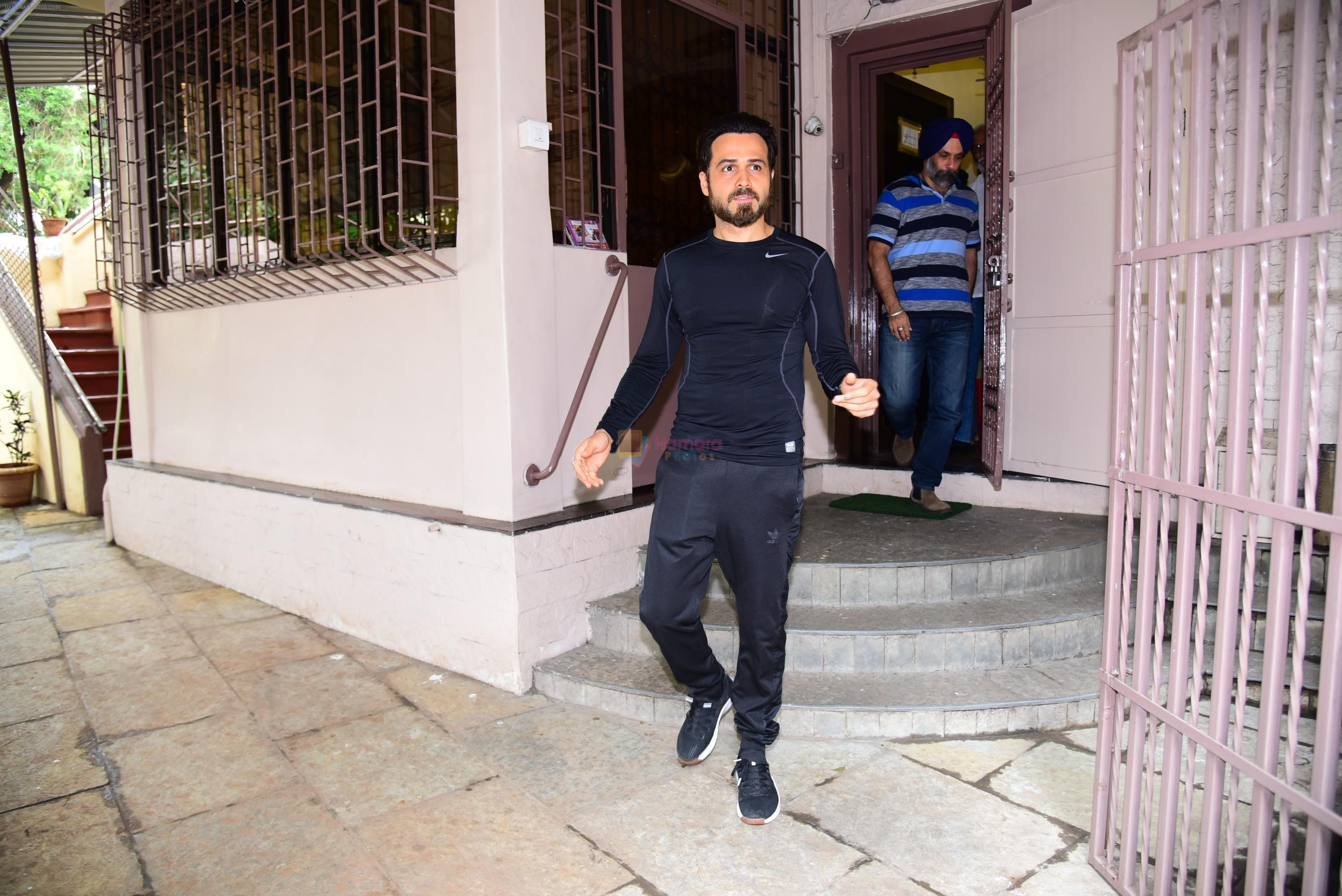 Emraan Hashmi spotted at bandra on 3rd July 2019