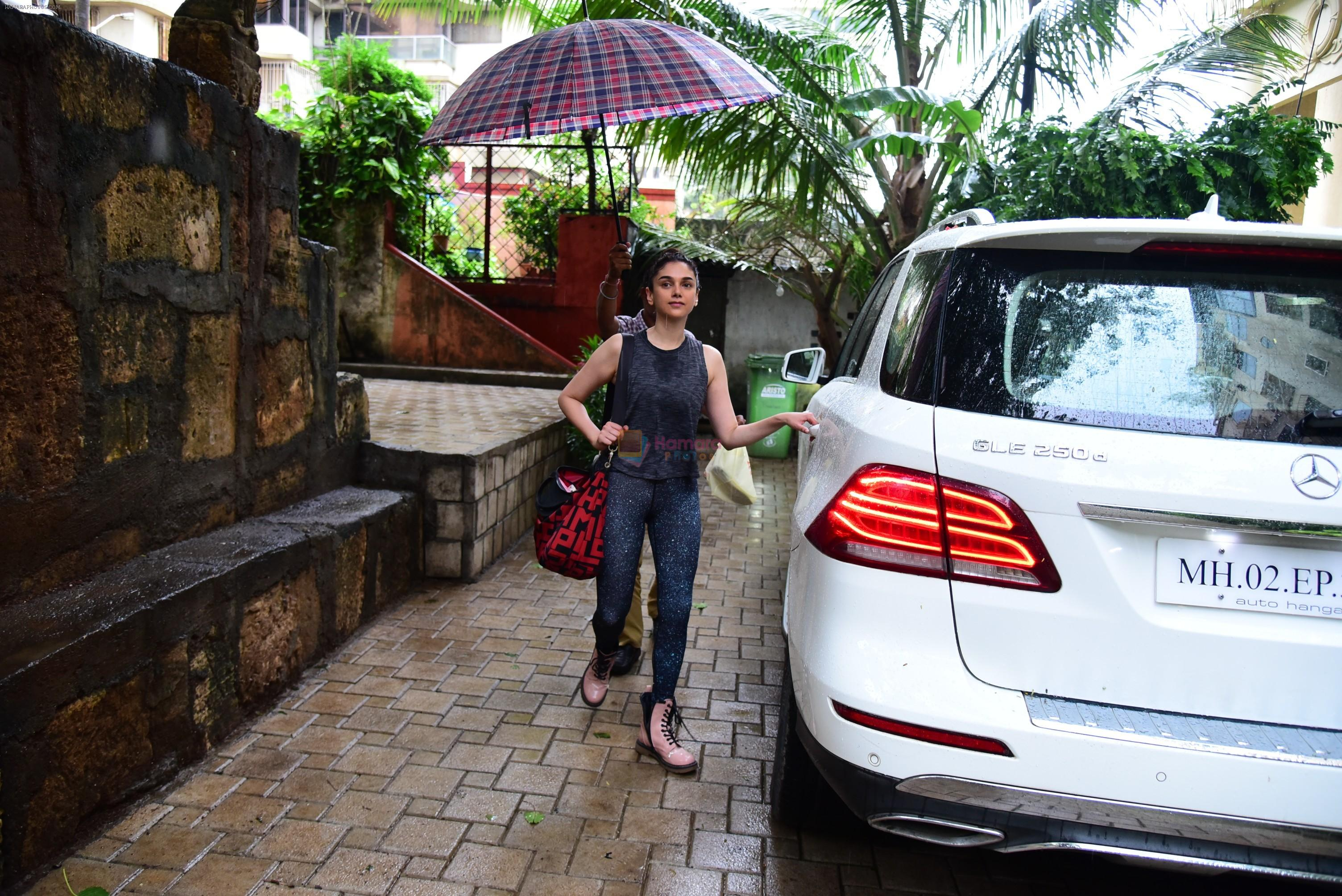 Aditi Rao Hydari spotted at bandra on 3rd July 2019