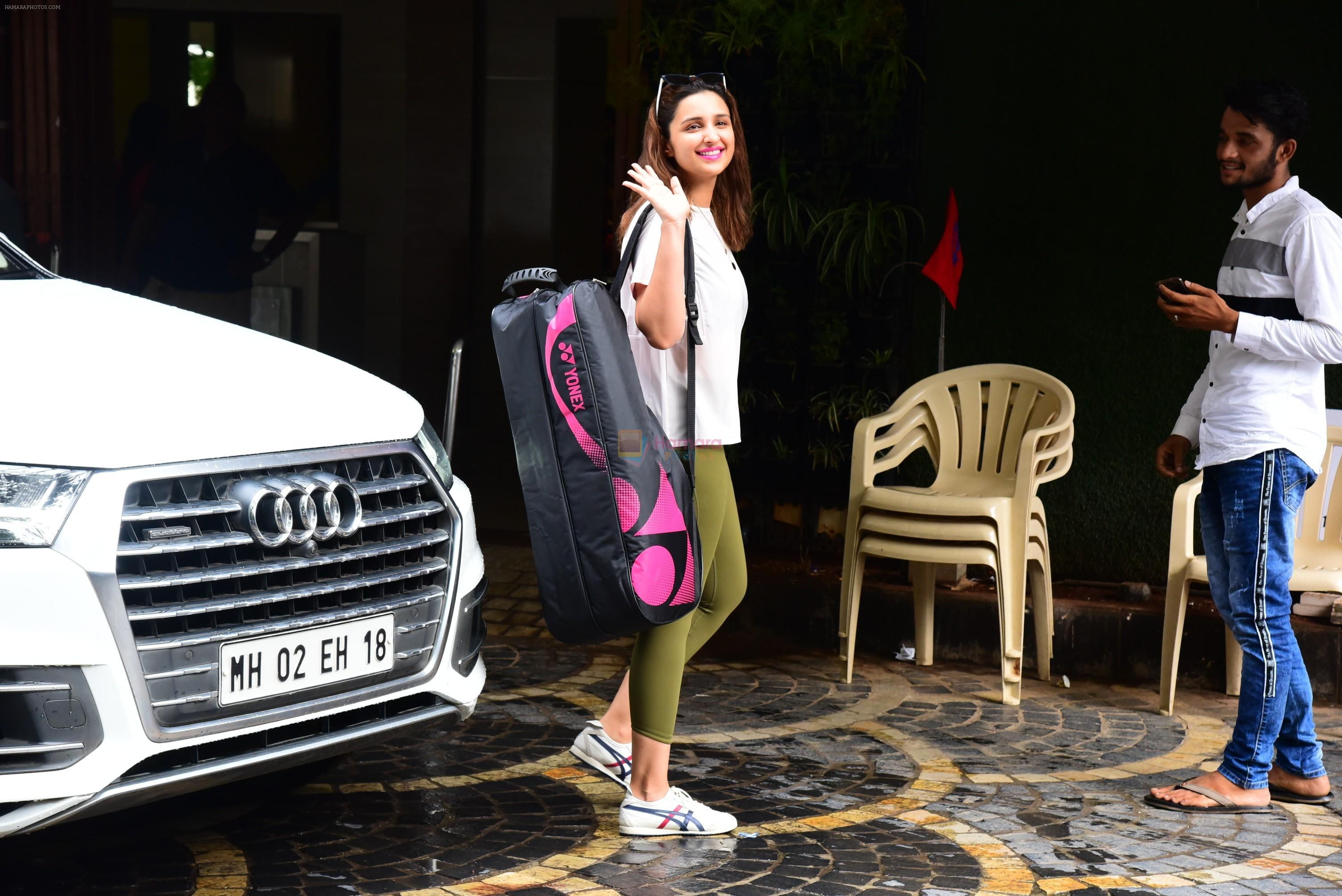 Parineeti Chopra spotted at khar gymkhana on 3rd July 2019