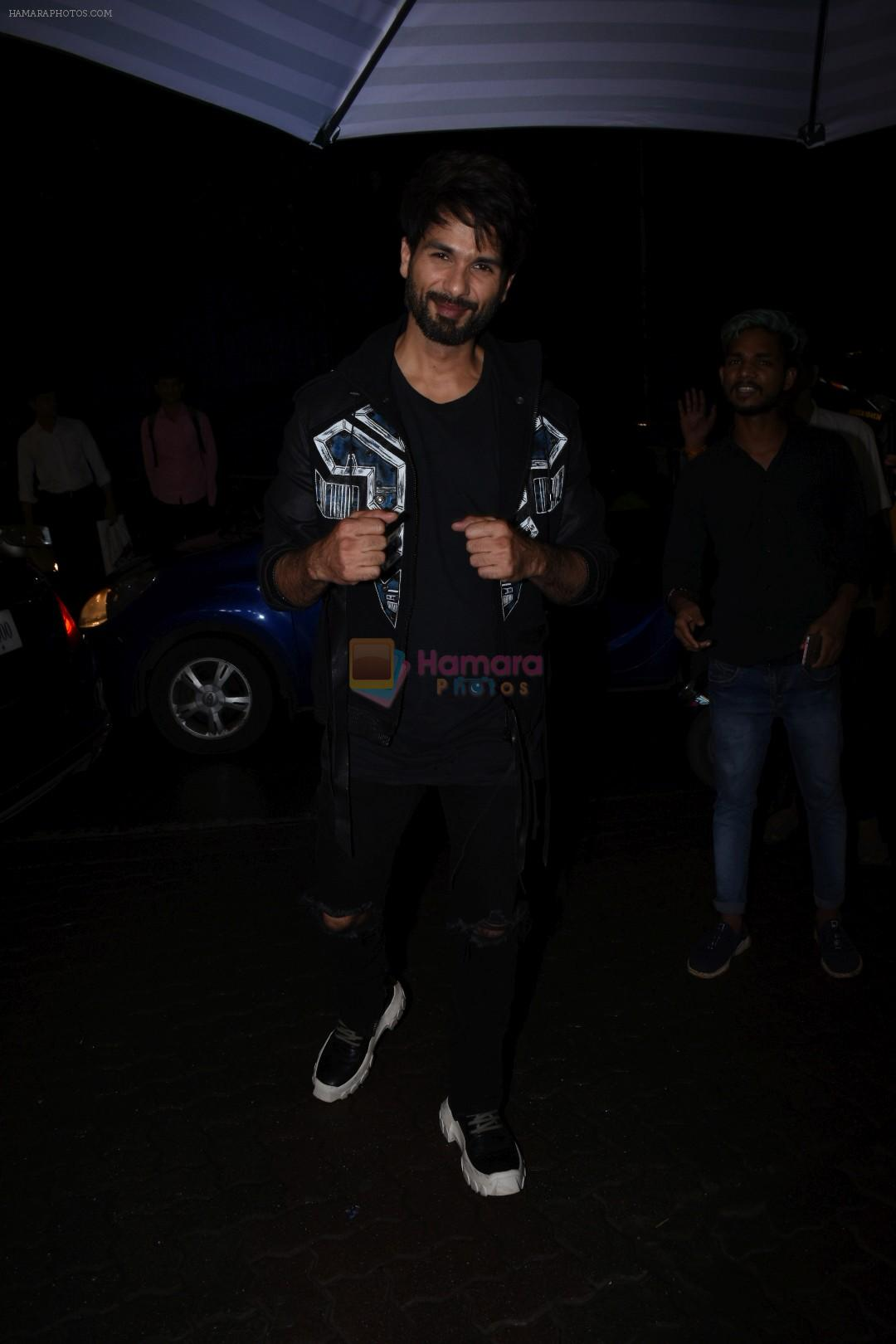 Shahid Kapoor at the Success party of Kabir Singh in Arth, khar on 4th July 2019-1