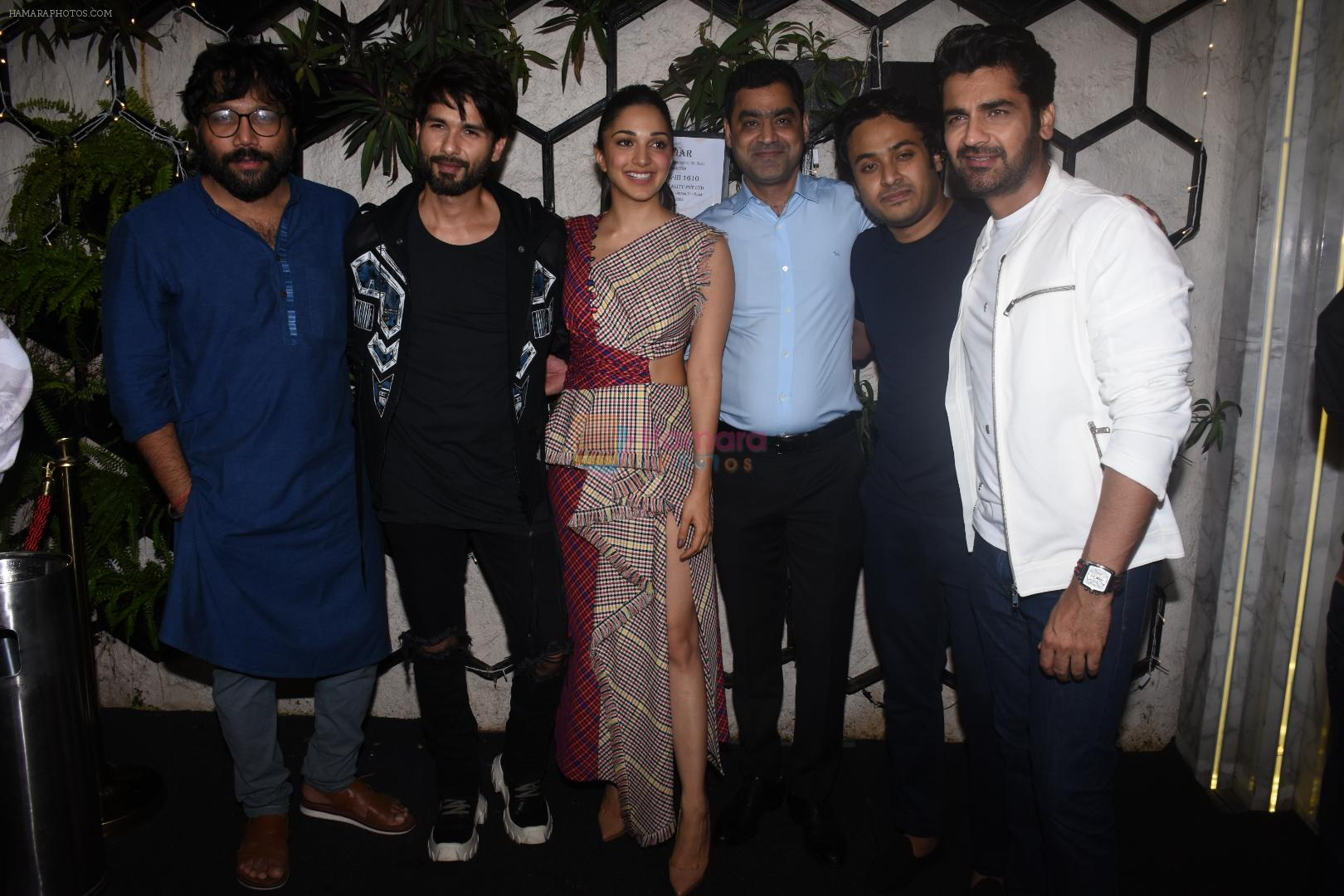 Kiara Advani, Shahid Kapoor, Sandeep Reddy Vanga, Arjan Bajwa at the Success party of Kabir Singh in Arth, khar on 4th July 2019-1