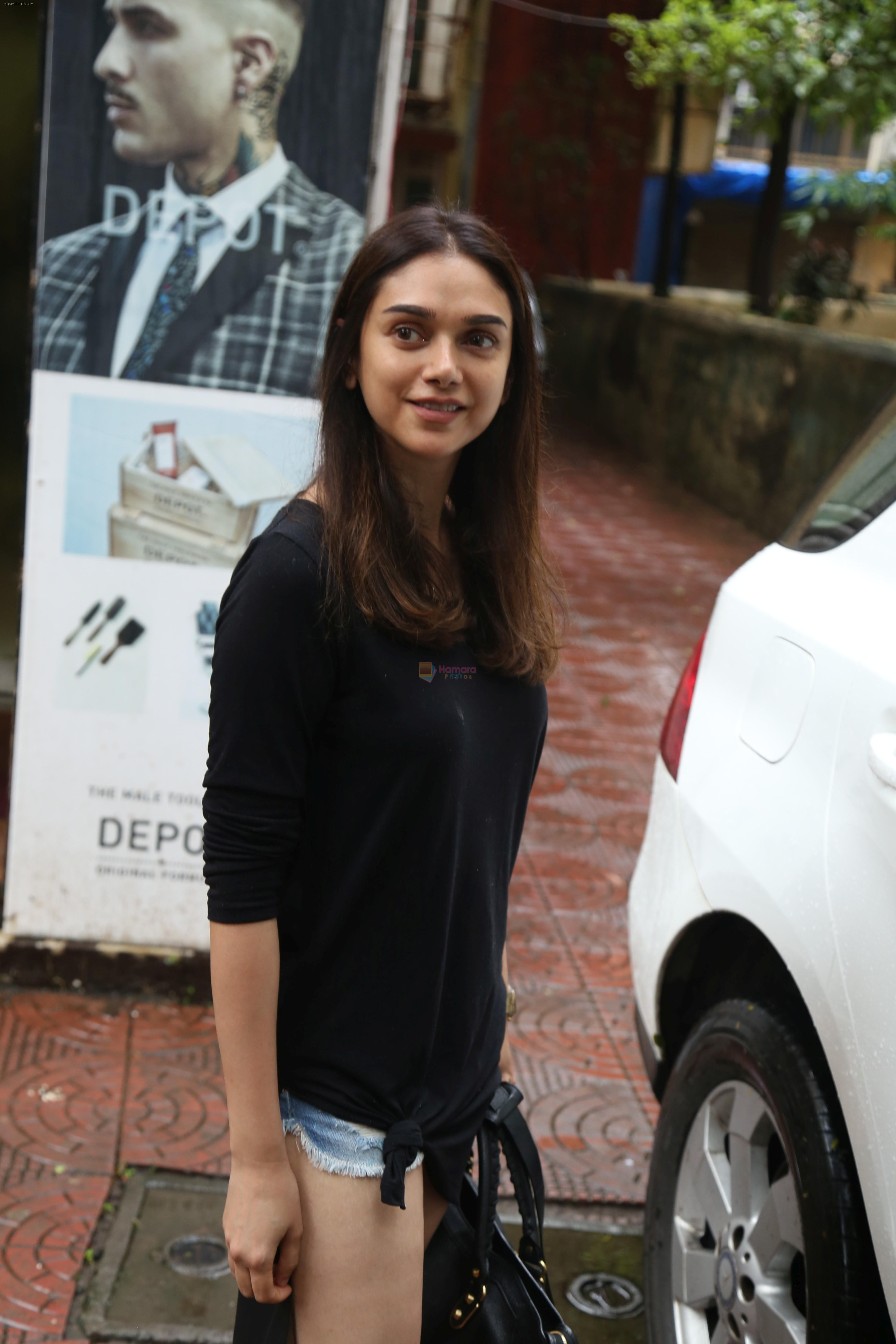 Aditi Rao Hydari, Ishaan Khattar spotted at Bandra on 4th July 2019