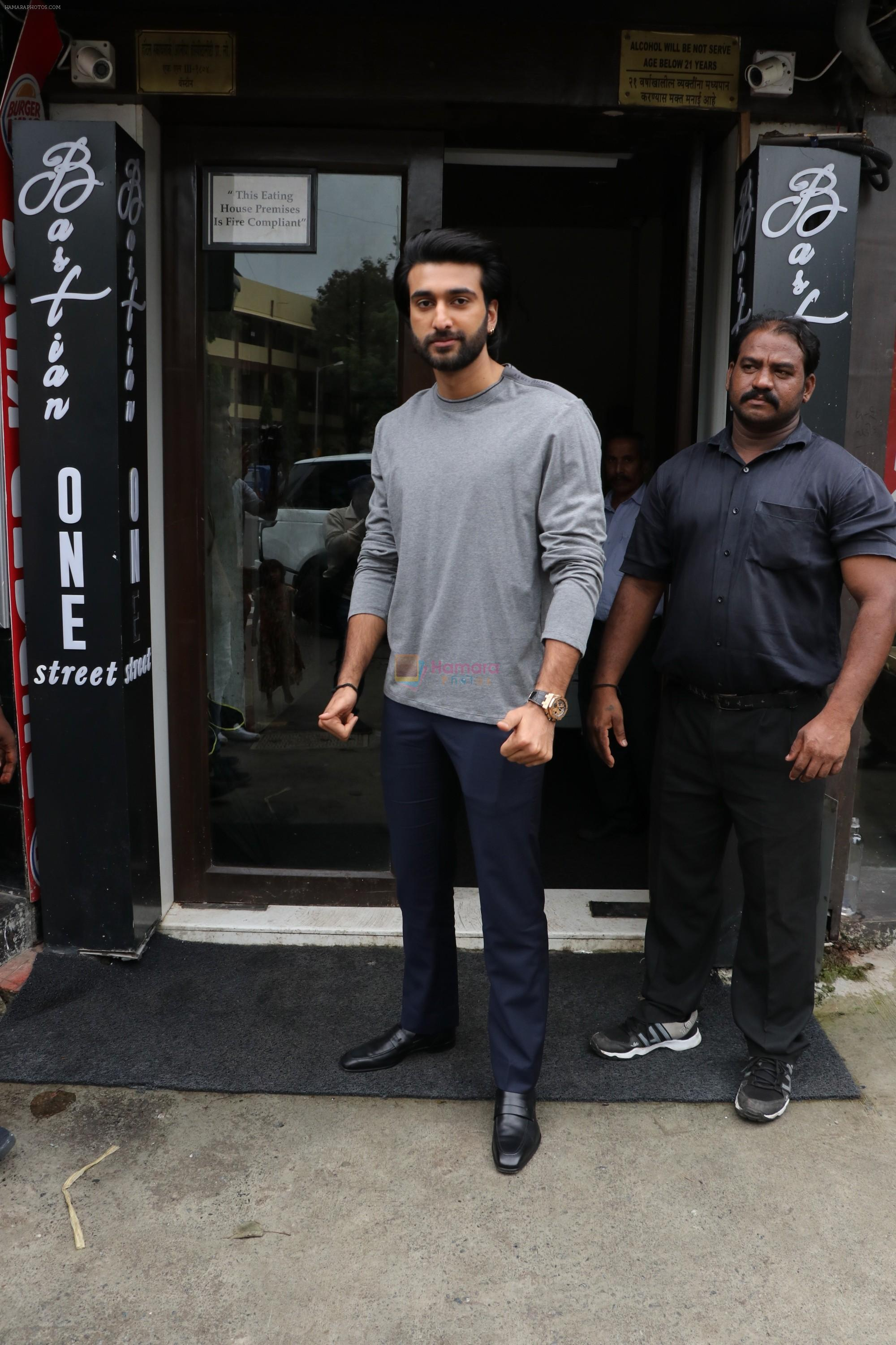 Meezaan Jaffrey spotted at bastian bandra on 7th July 2019