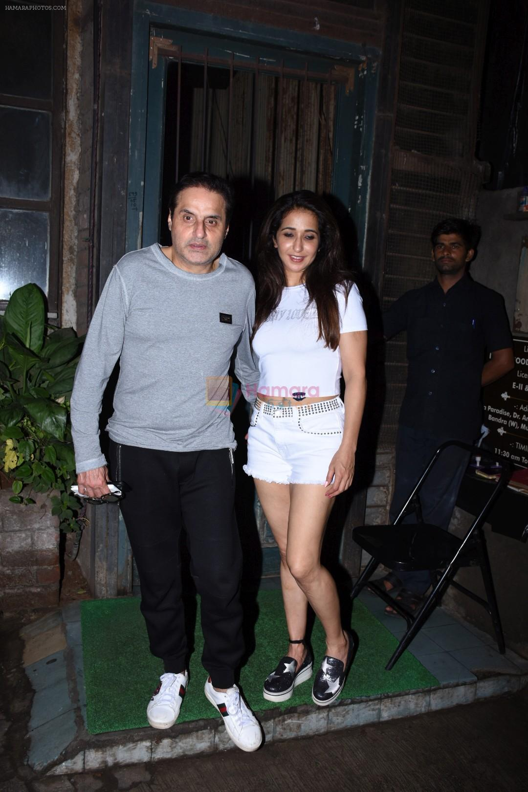 Sunil Lulla,  Krishika Lulla spotted at palli village cafe bandra on 7th July 2019