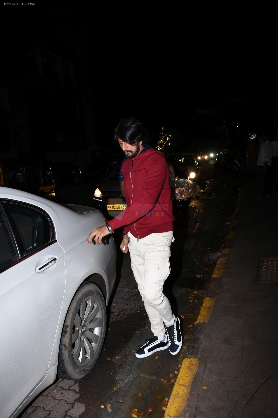 Sudeep spotted at bandra on 9th July 2019
