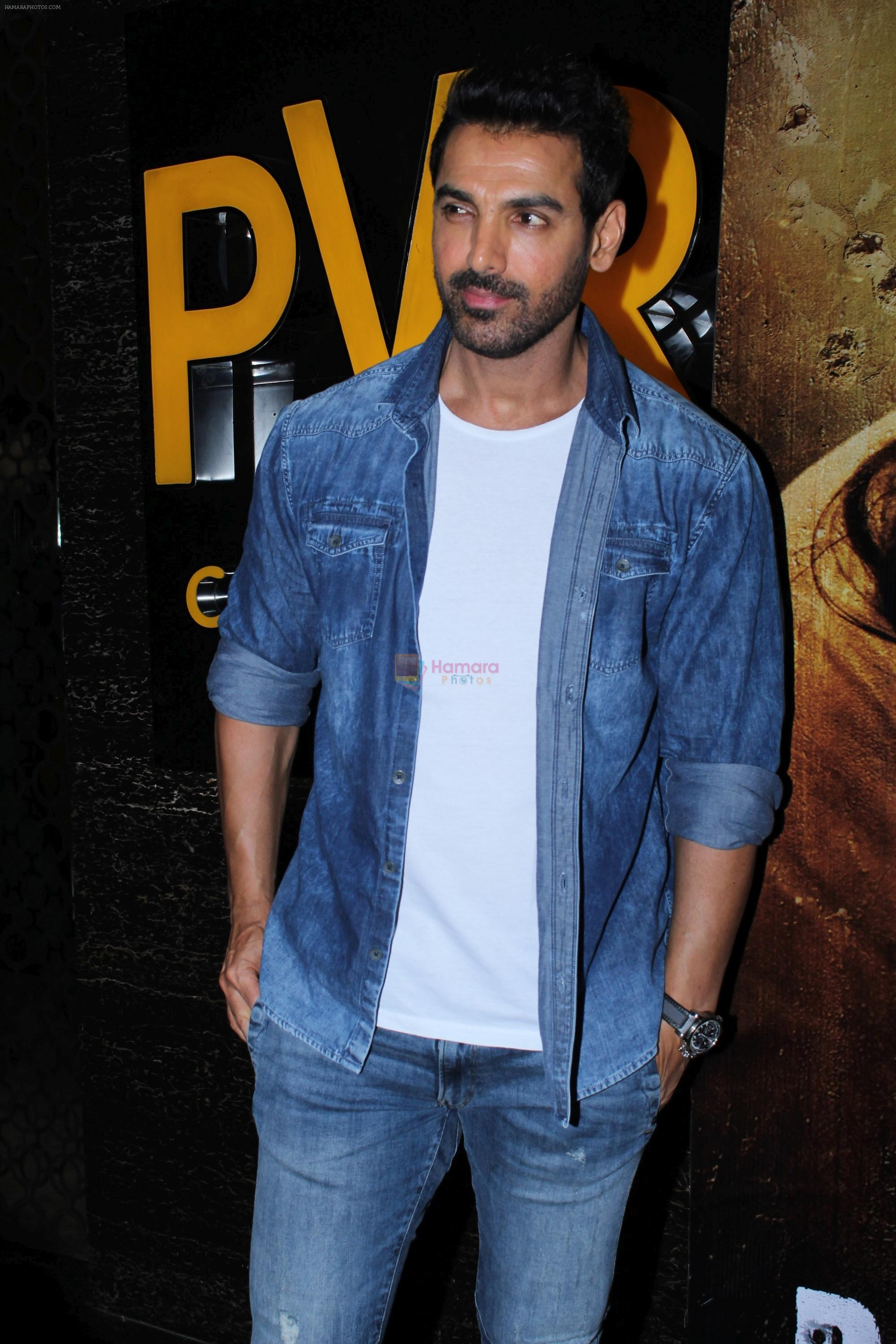 John Abraham at the Trailer Launch Of Film Batla House on 10th July 2019