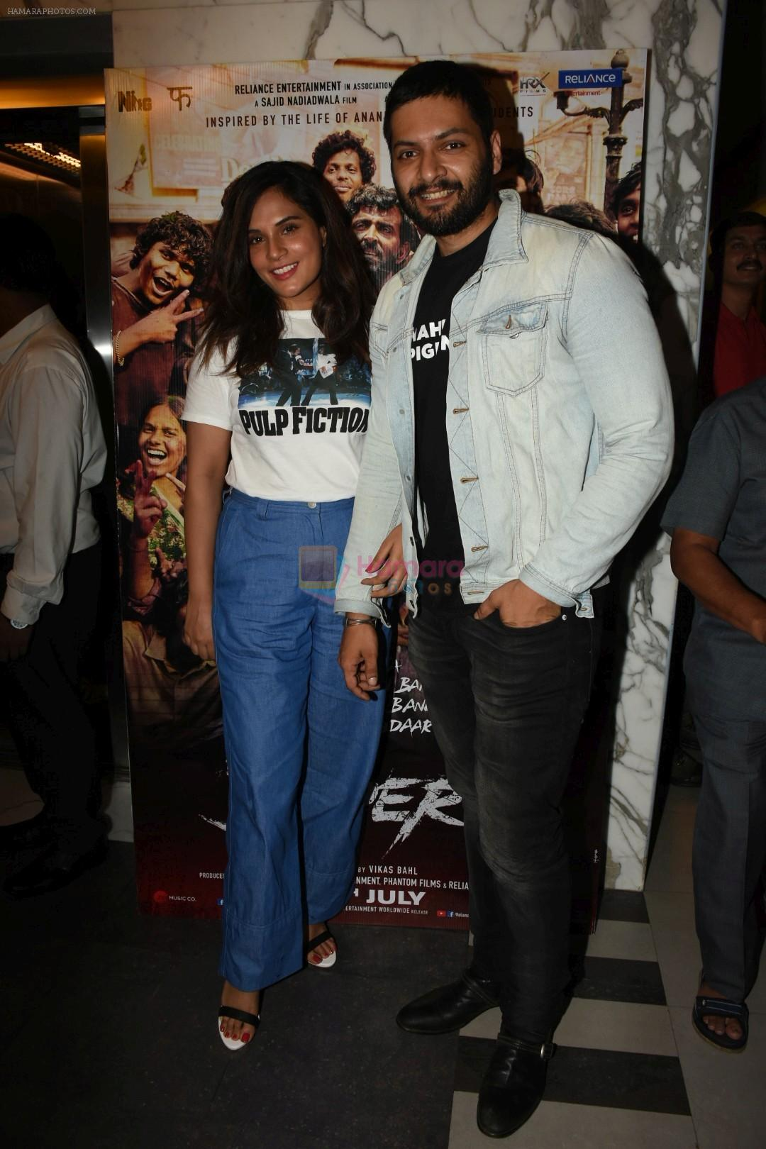 Richa Chadha, Ali Fazal  at the Screening of film Super 30 in Yashraj studios, Andheri on 10th July 2019