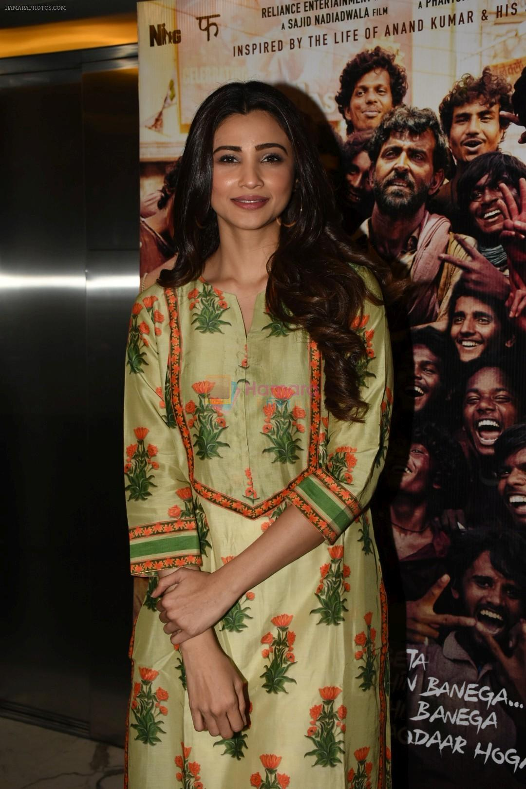Daisy Shah at the Screening of film Super 30 in Yashraj studios, Andheri on 10th July 2019