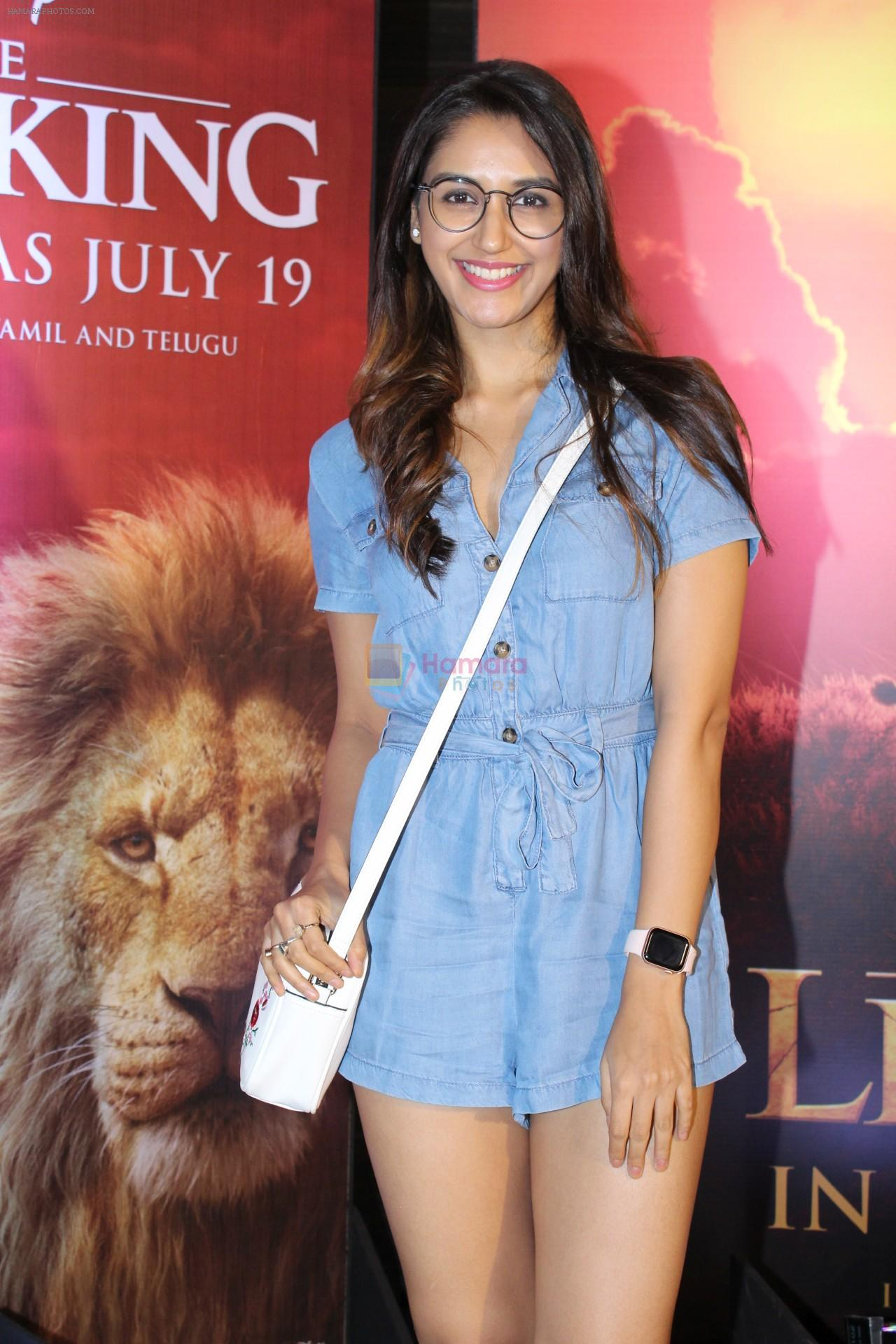 Nikita Dutta at the Special screening of film The Lion King on 18th July 2019