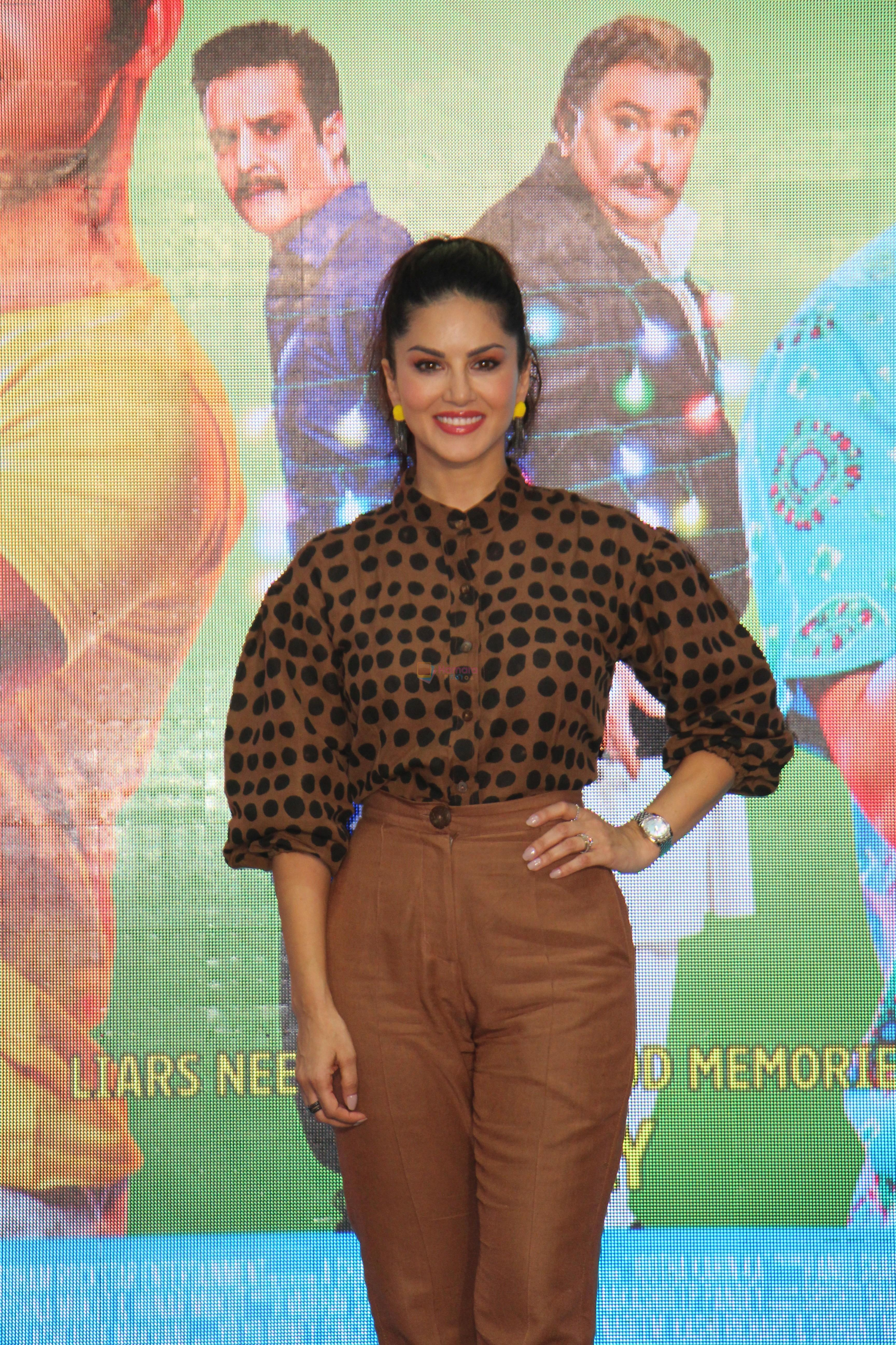 Sunny Leone at the Song Launch Funk Love from movie Jhootha Kahin Ka on 11th July 2019