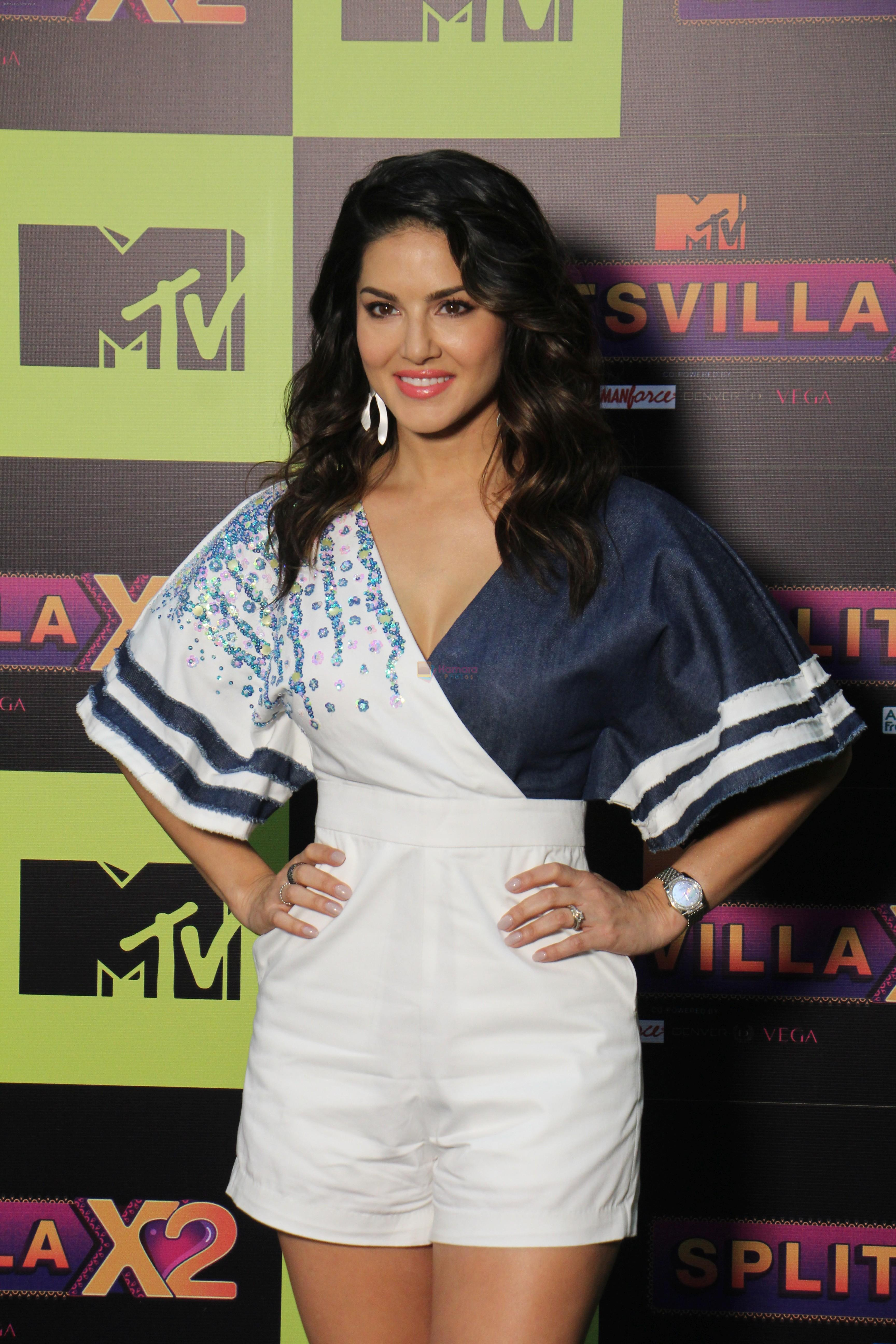 Sunny Leone at the Launch of Mtv splitsvilla on 17th July 2019