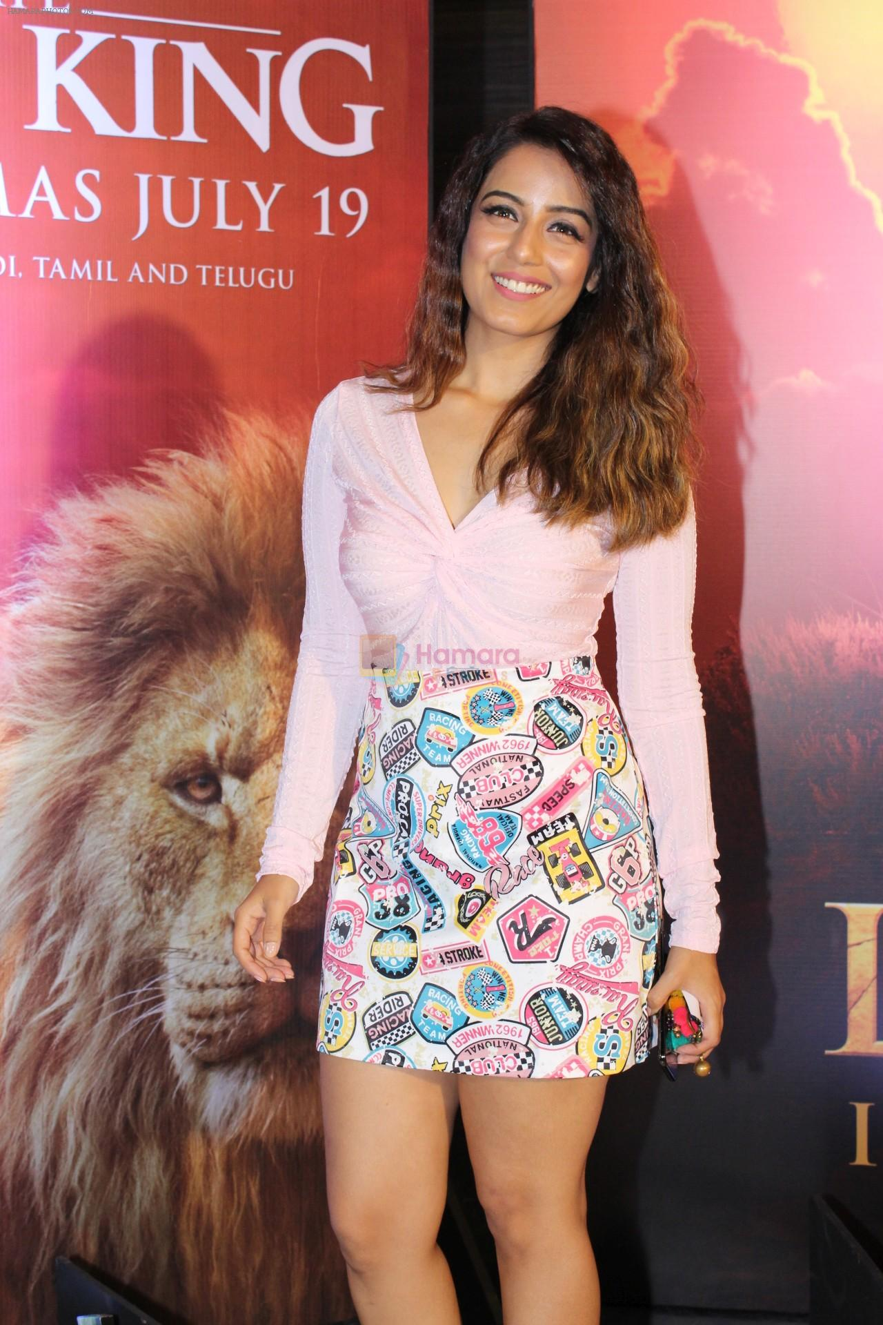 at the Special screening of film The Lion King on 18th July 2019