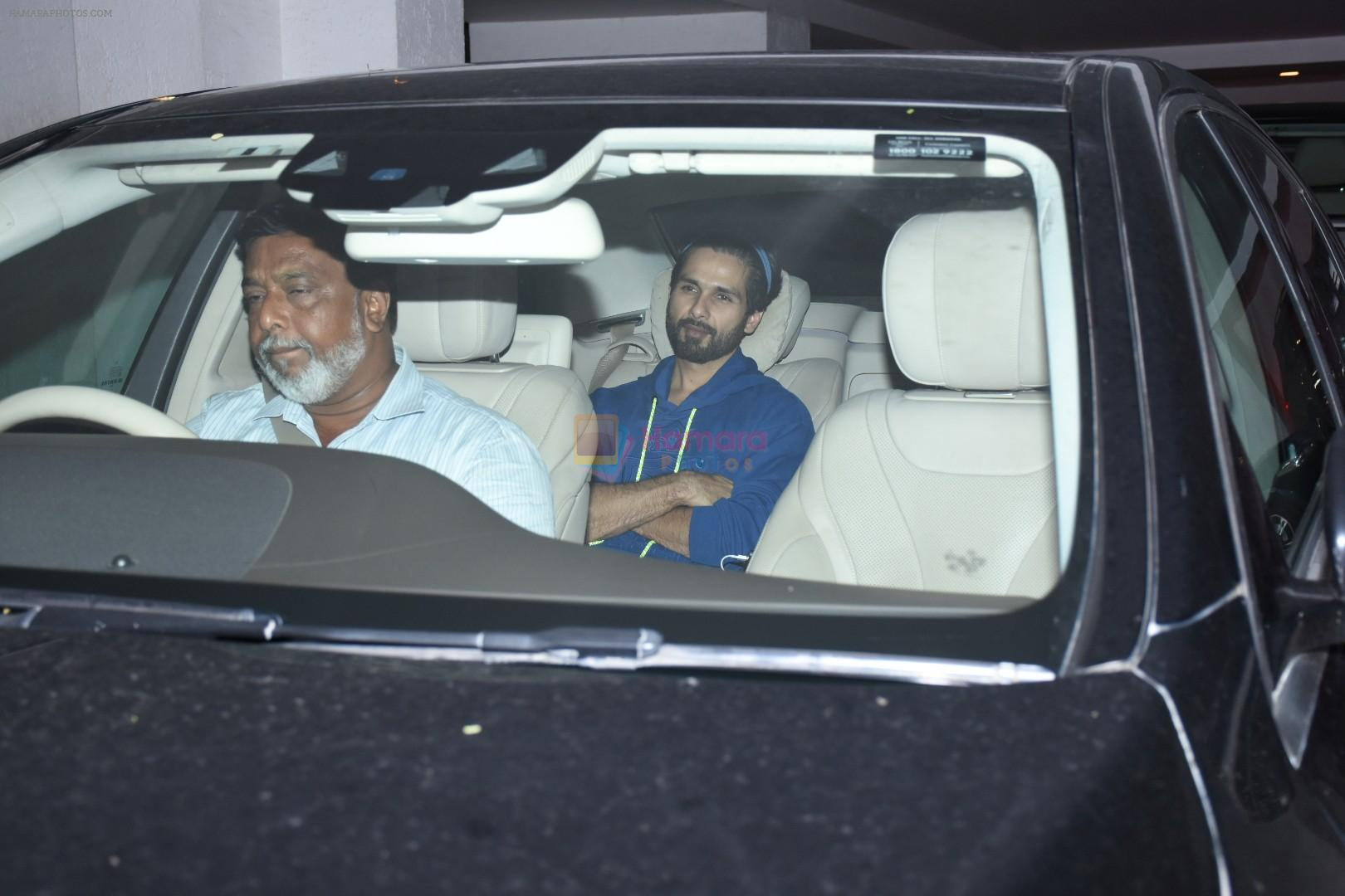 Shahid Kapoor at Karan Johar's party at his home in bandra on 27th July 2019