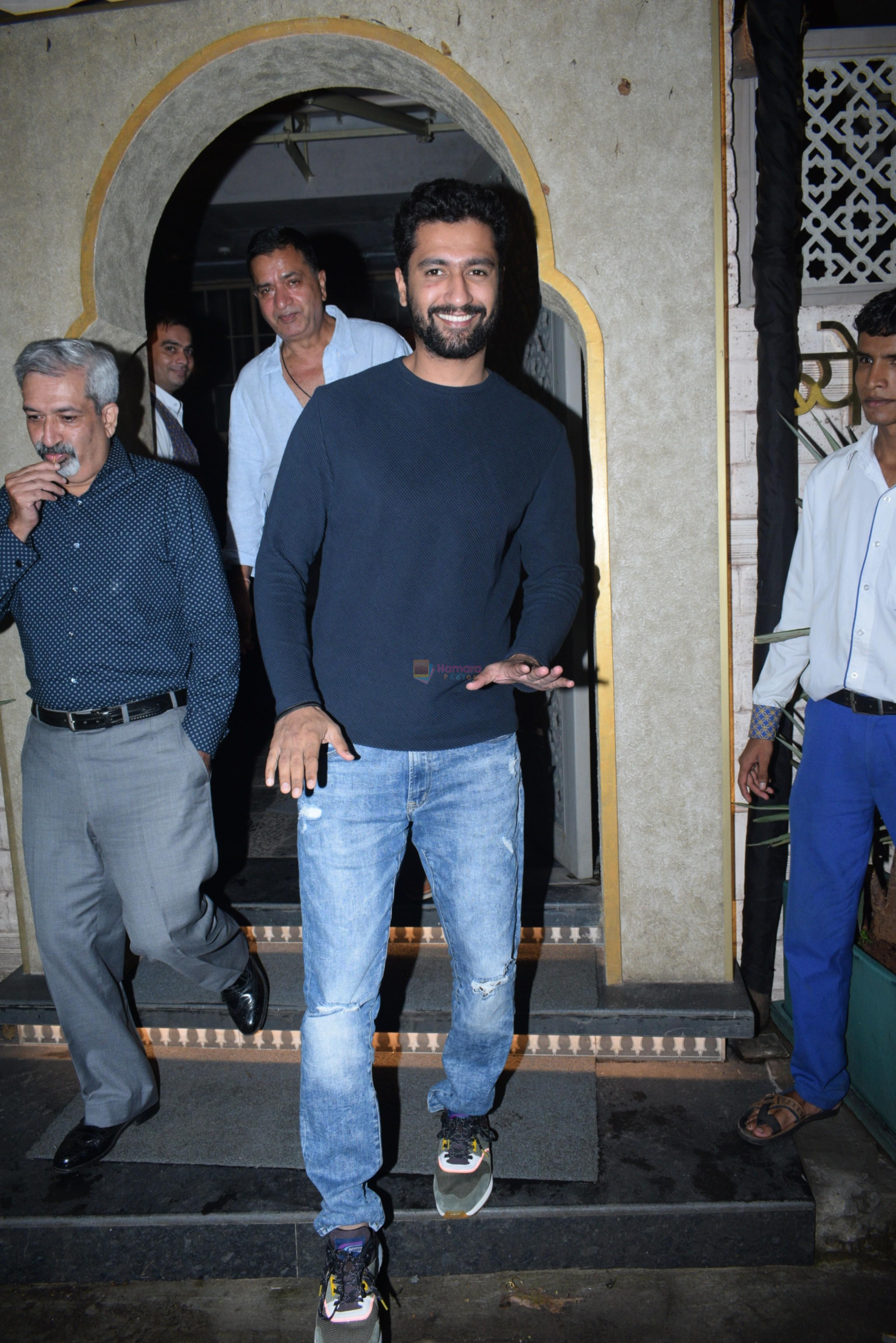 Vicky Kaushal's family spotted at bayroute in juhu on 28th July 2019
