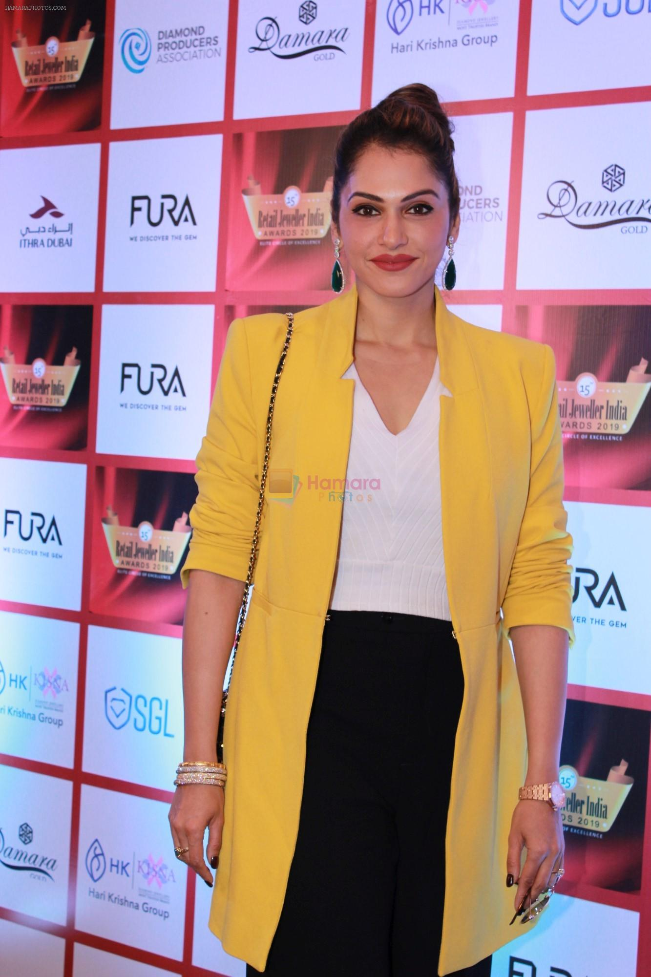 Isha Koppikar At The 15th Annual Fura Retail Jeweller India Awards 2019 on 29th July 2019