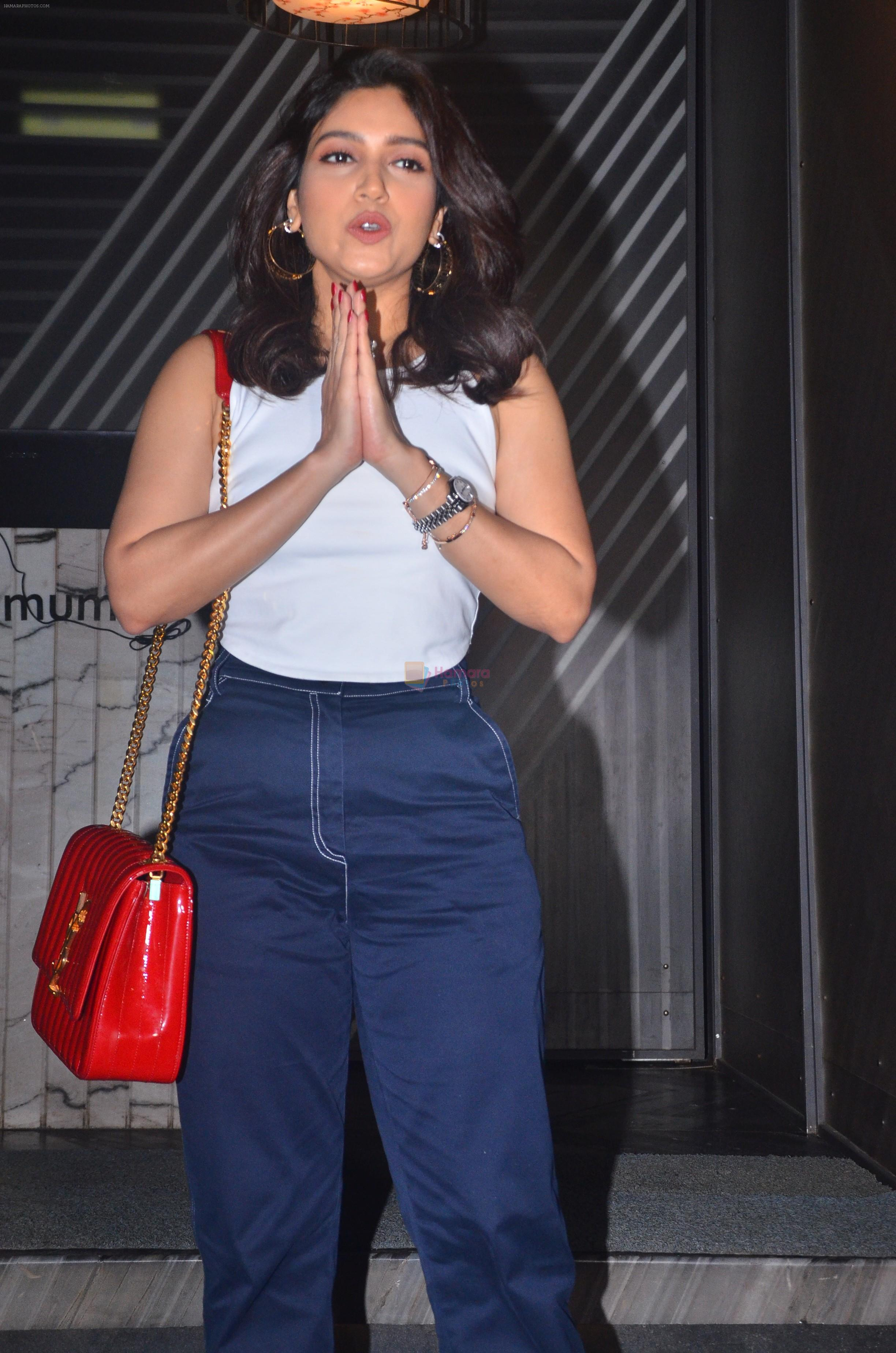 Bhumi Pednekar spotted at Andheri on 30th July 2019