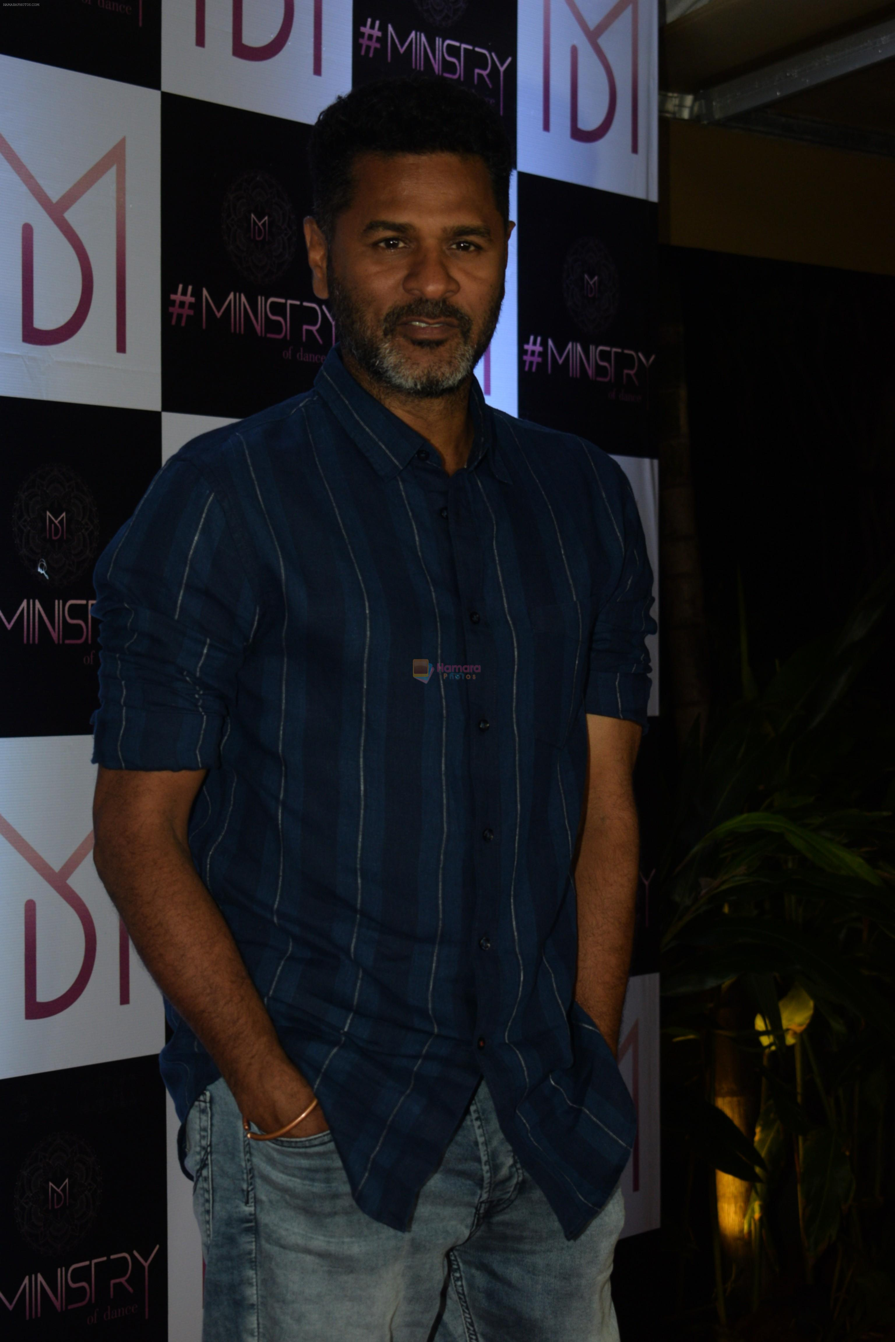 Prabhu Deva at the Wrap up party of film Street Dancer at andheri on 30th July 2019