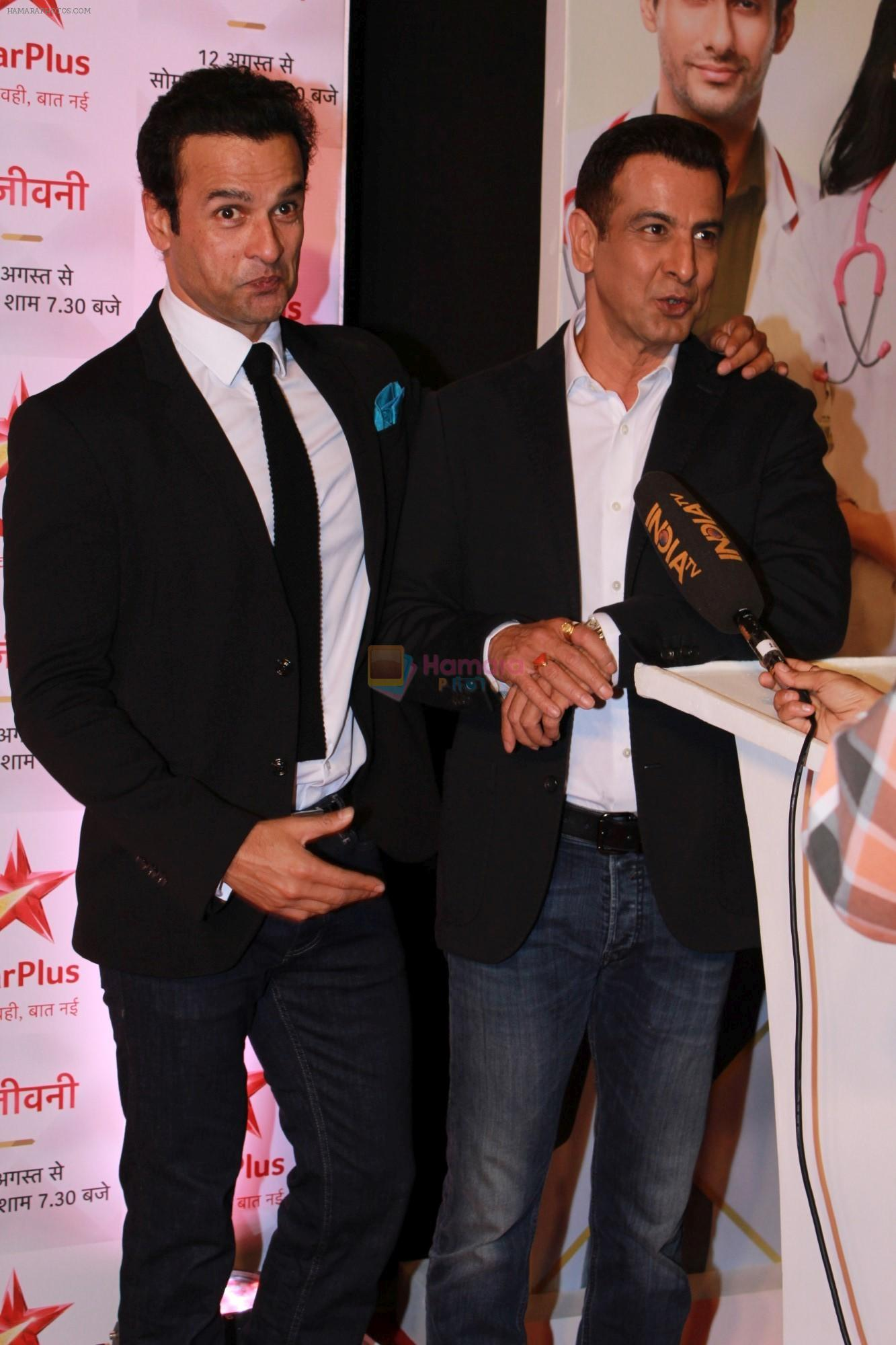 Ronit Roy, Rohit Roy at the Red Carpet of Star Plus serial Sanjivani 2 on 31st July 2019