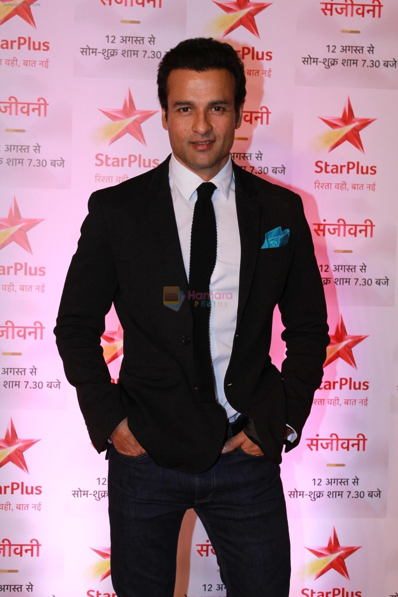 Rohit Roy at the Red Carpet of Star Plus serial Sanjivani 2 on 31st July 2019