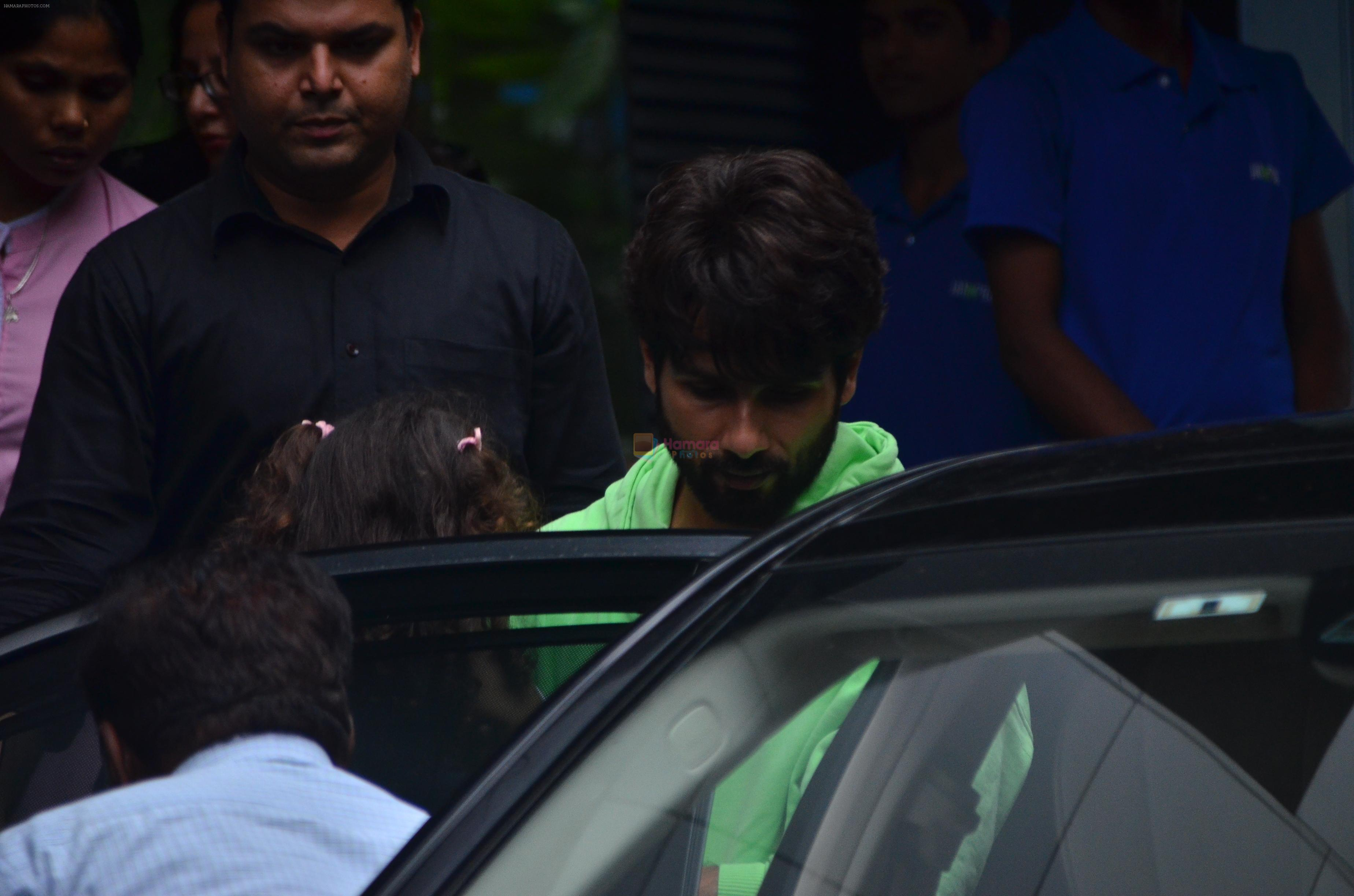 Shahid Kapoor & Mira Rajput spotted at juhu on 31st July 2019