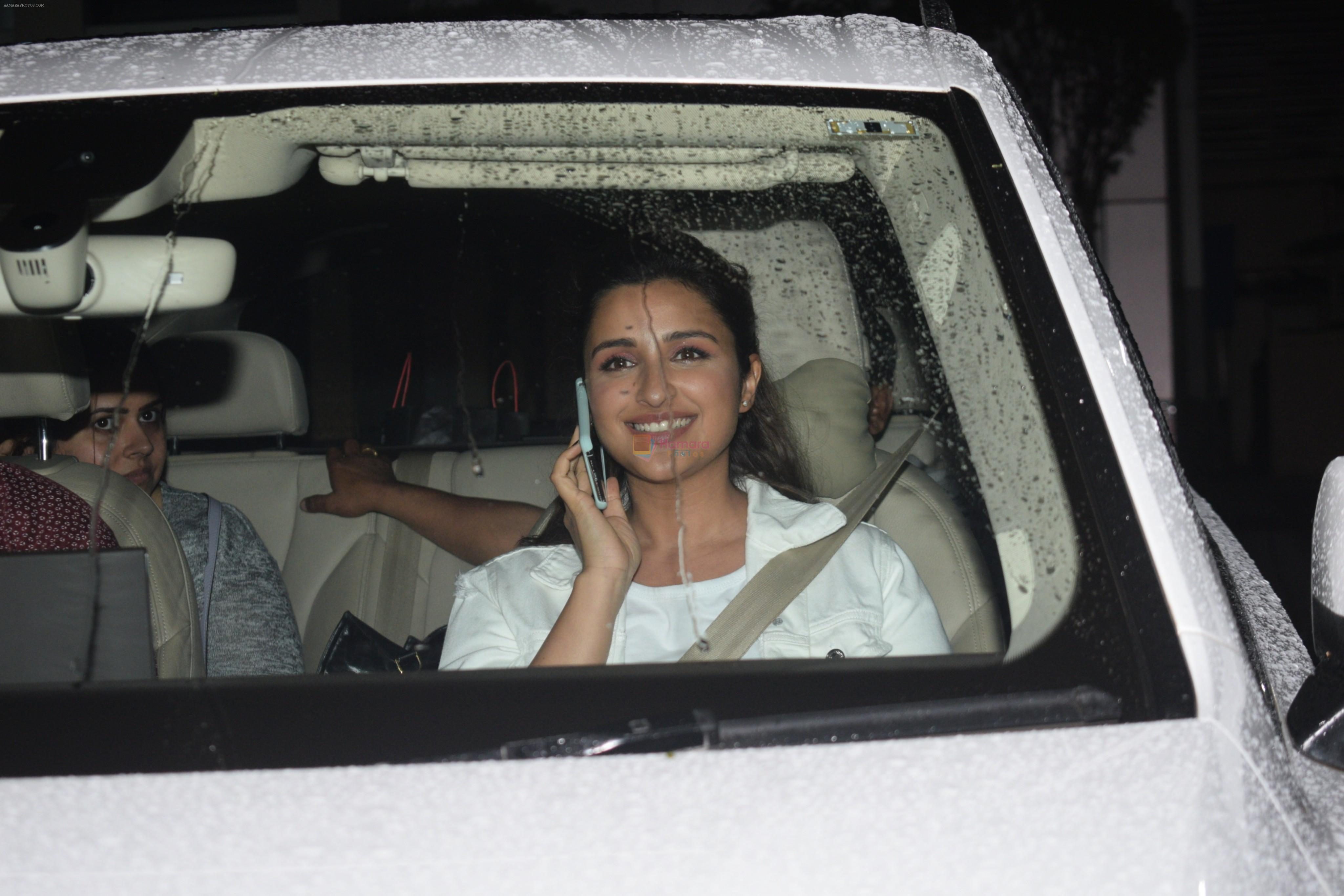 Parineeti Chopra spotted airport on 31st July 2019