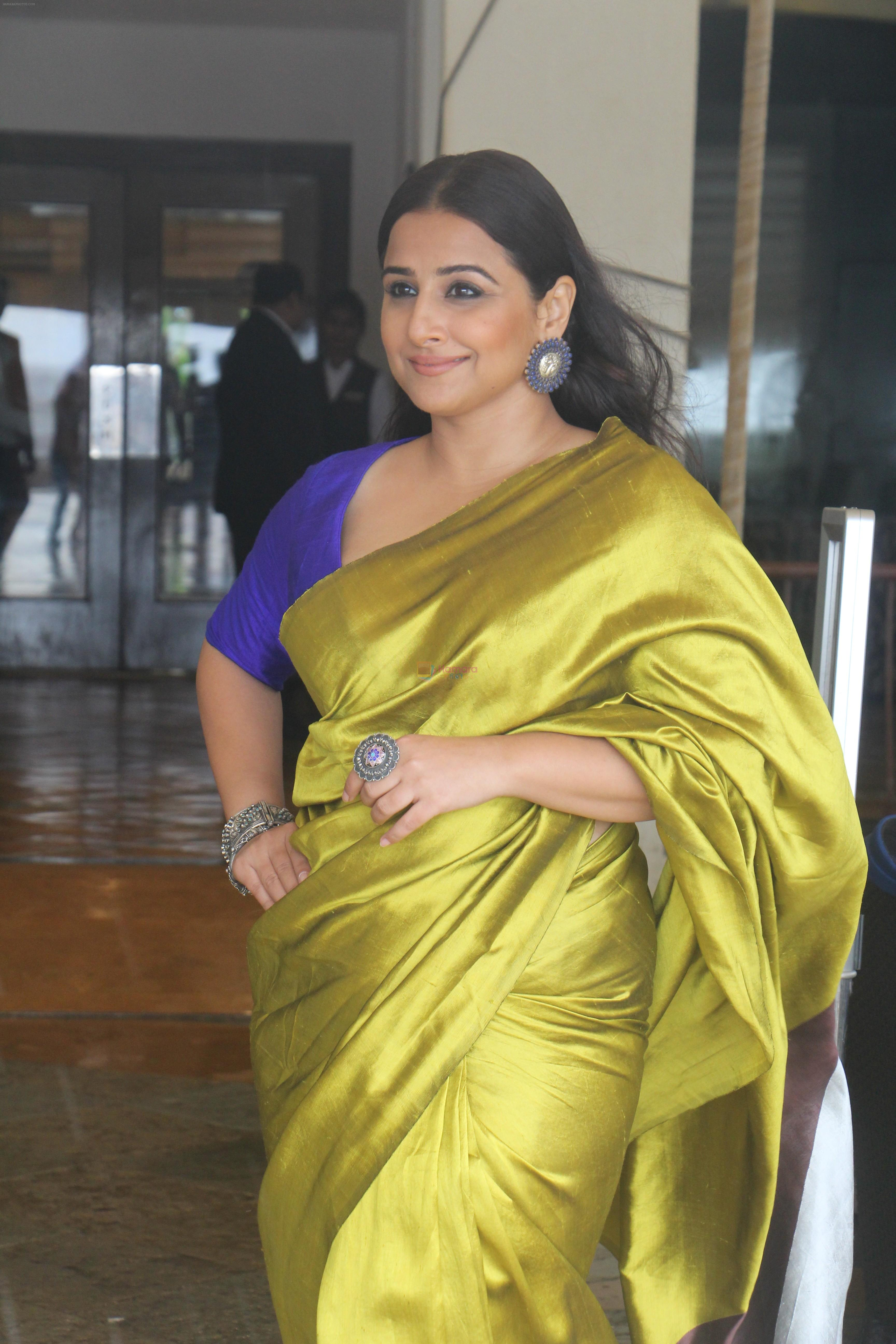 Vidya Balan at the media interactions for film Mission Mangal at Sun n Sand in juhu on 3rd Aug 2019