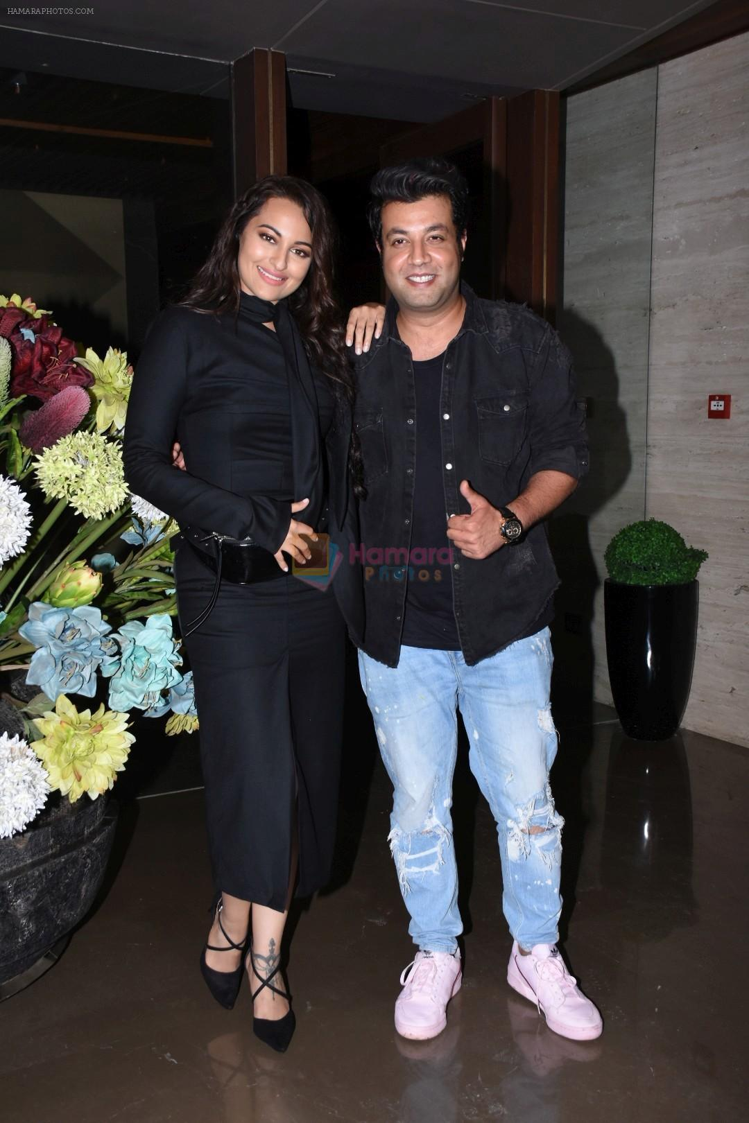 Sonakshi Sinha, Varun Sharma at Jacky Bhagnani's party at bandra on 5th Aug 2019