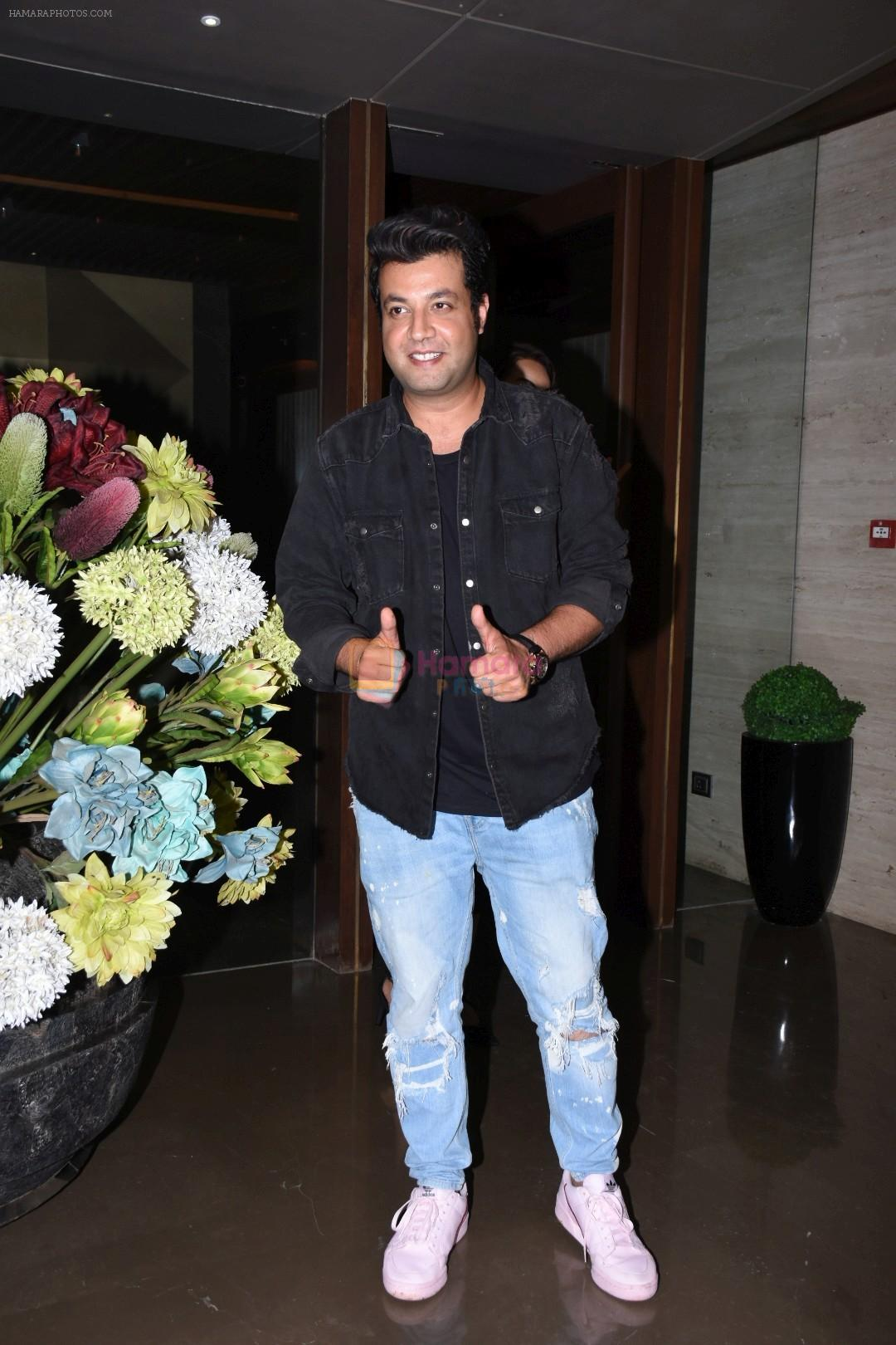 Varun Sharma at Jacky Bhagnani's party at bandra on 5th Aug 2019