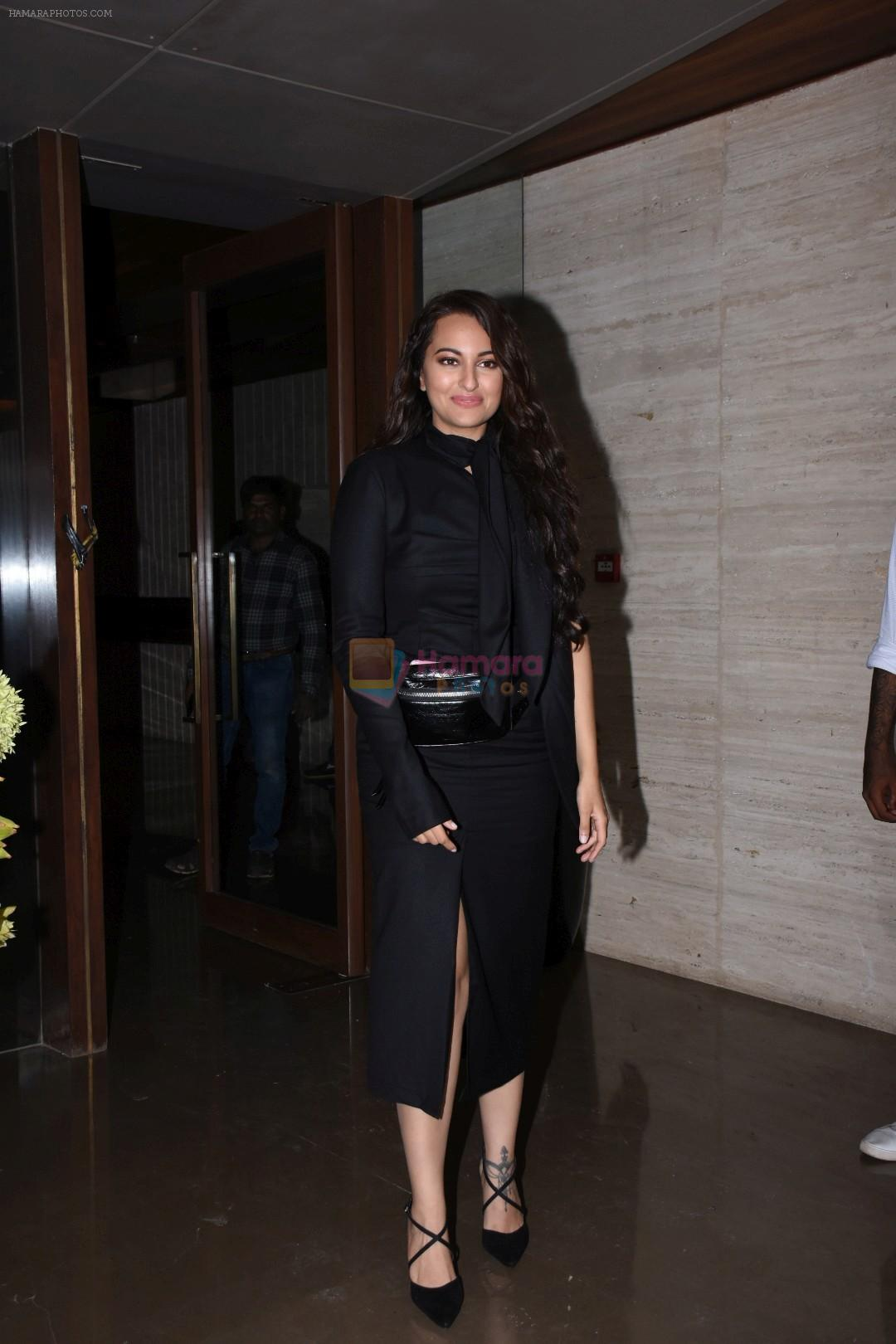 Sonakshi Sinha at Jacky Bhagnani's party at bandra on 5th Aug 2019