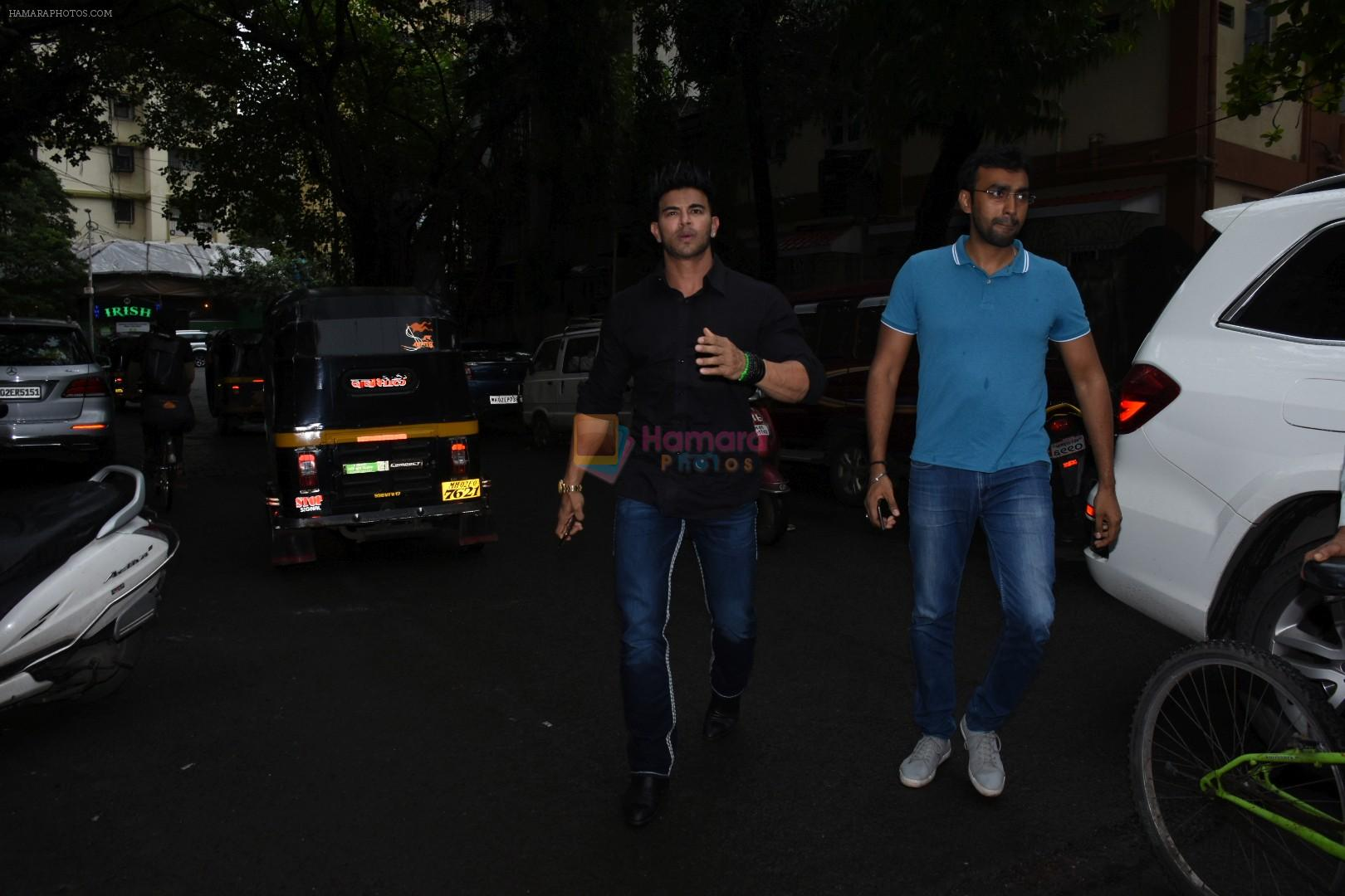 Sahil Khan spotted at indigo in bandra on 5th Aug 2019