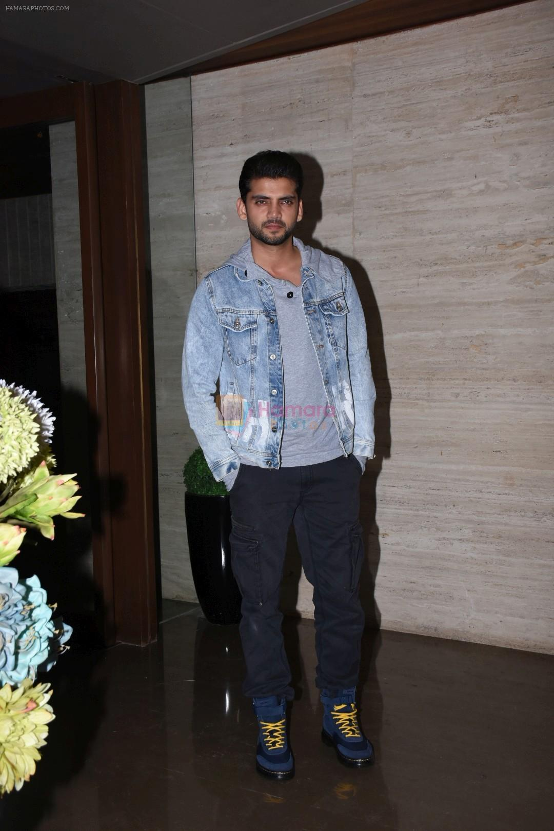 Zaheer Iqbal at Jacky Bhagnani's party at bandra on 5th Aug 2019