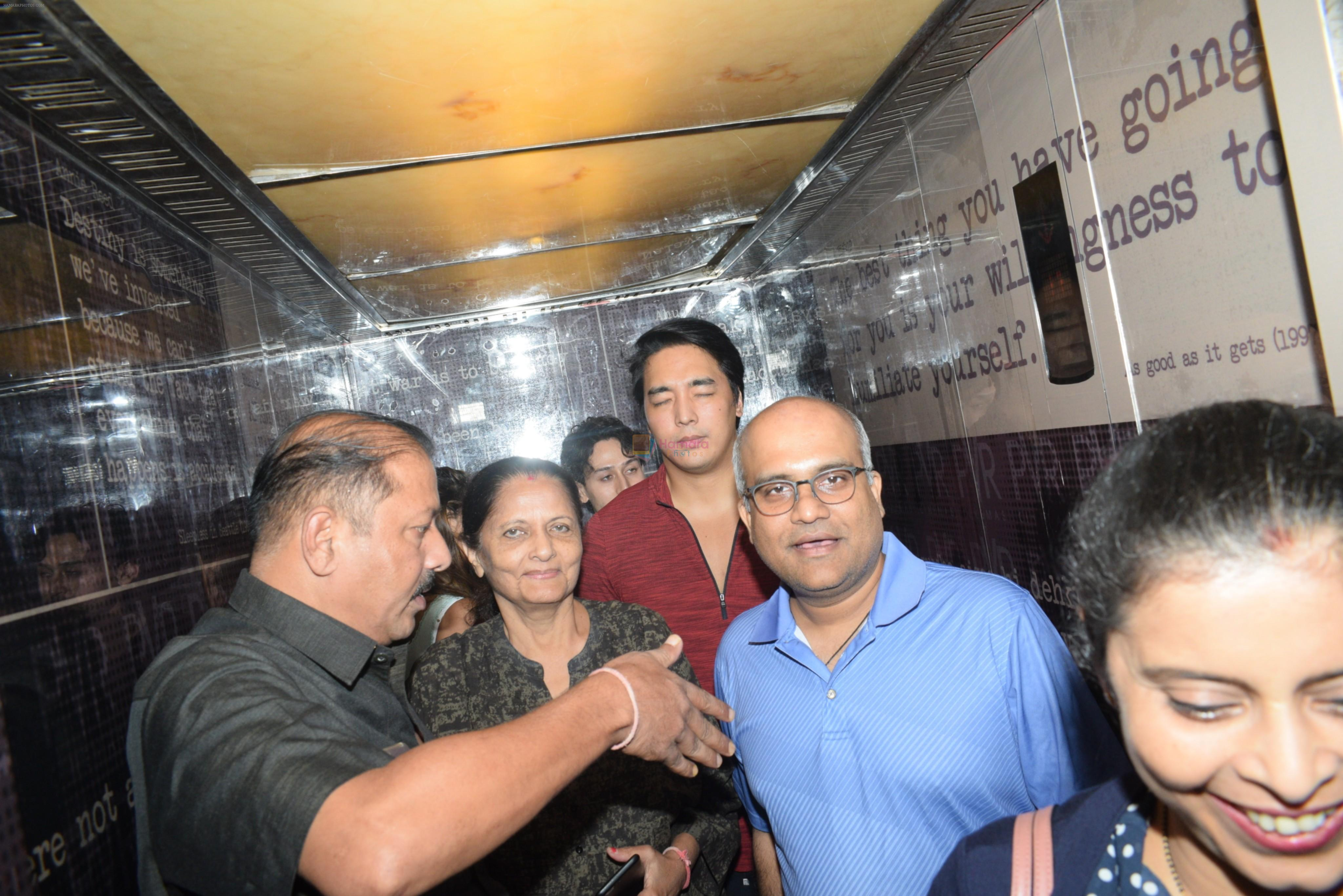 Tiger Shroff spotted at pvr juhu on 4th Aug 2019