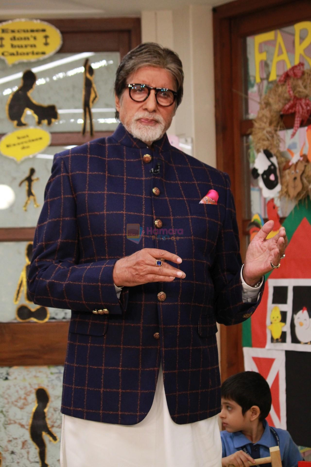 Amitabh Bachchan at the launch of Ndtv Banega Swasth India Season 6 in juhu on 19th Aug 2019